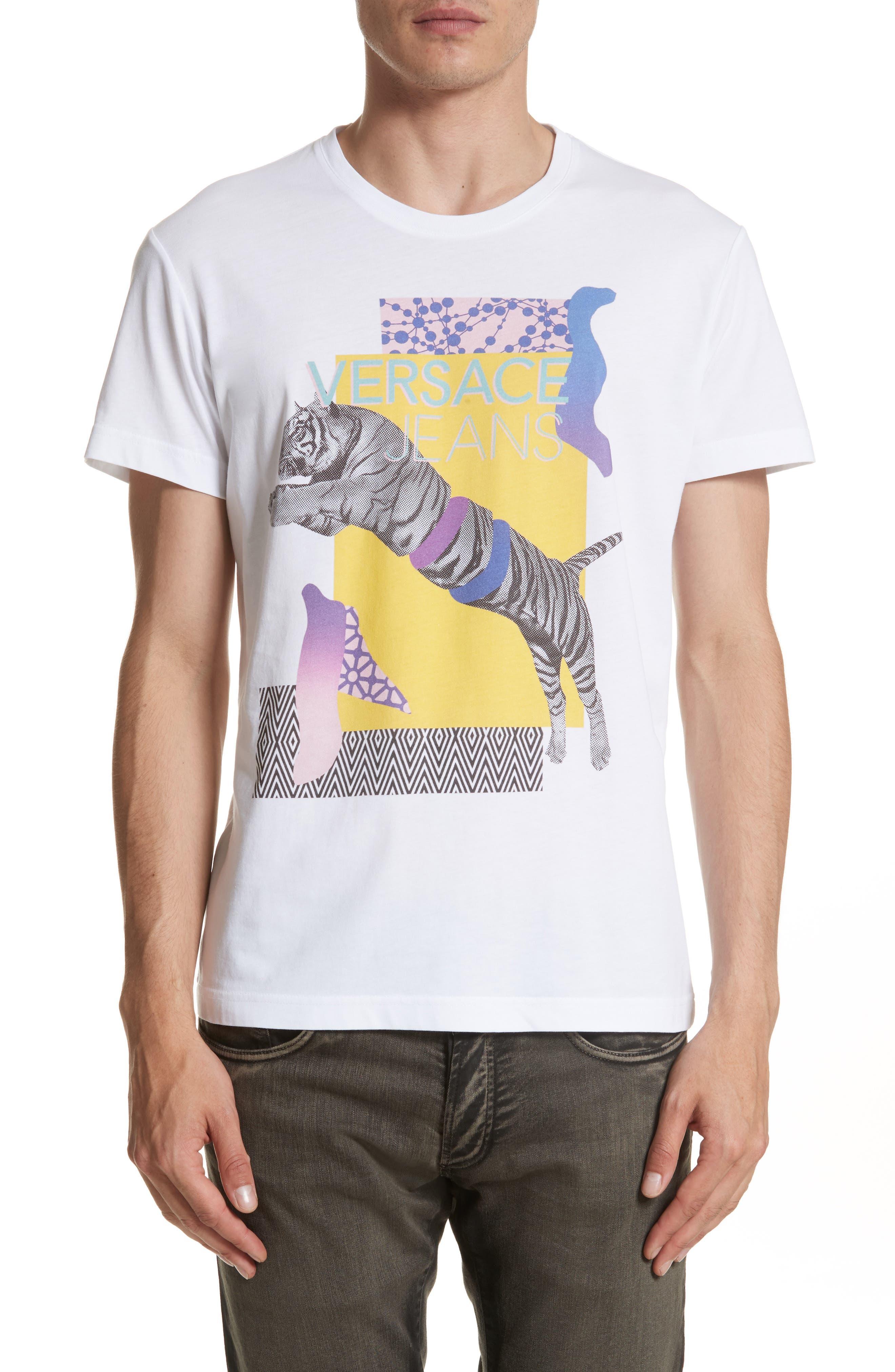 Versace Jeans Tiger Logo T-Shirt