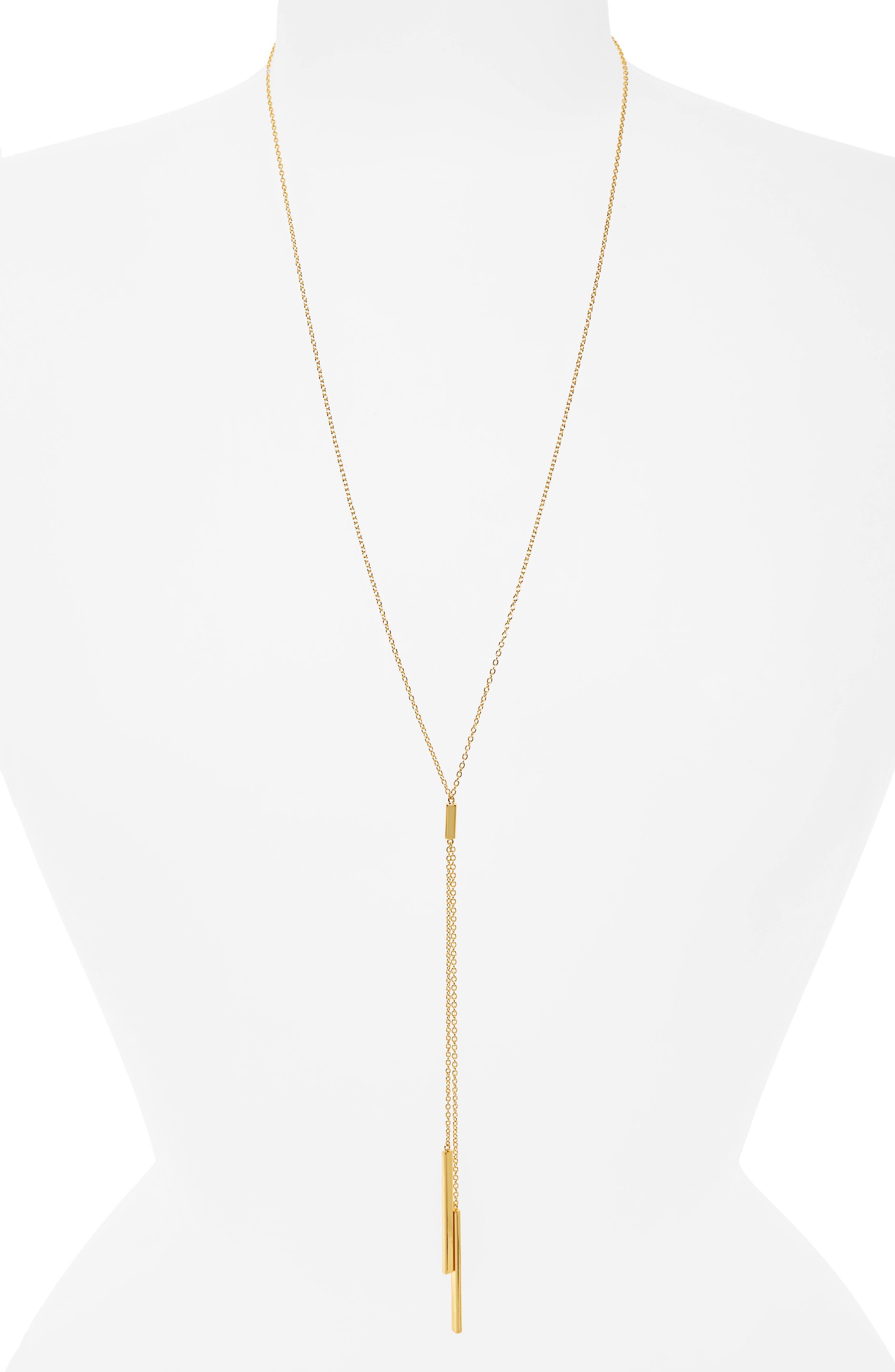 Alternate Image 3  - gorjana 'Mave' Lariat Necklace