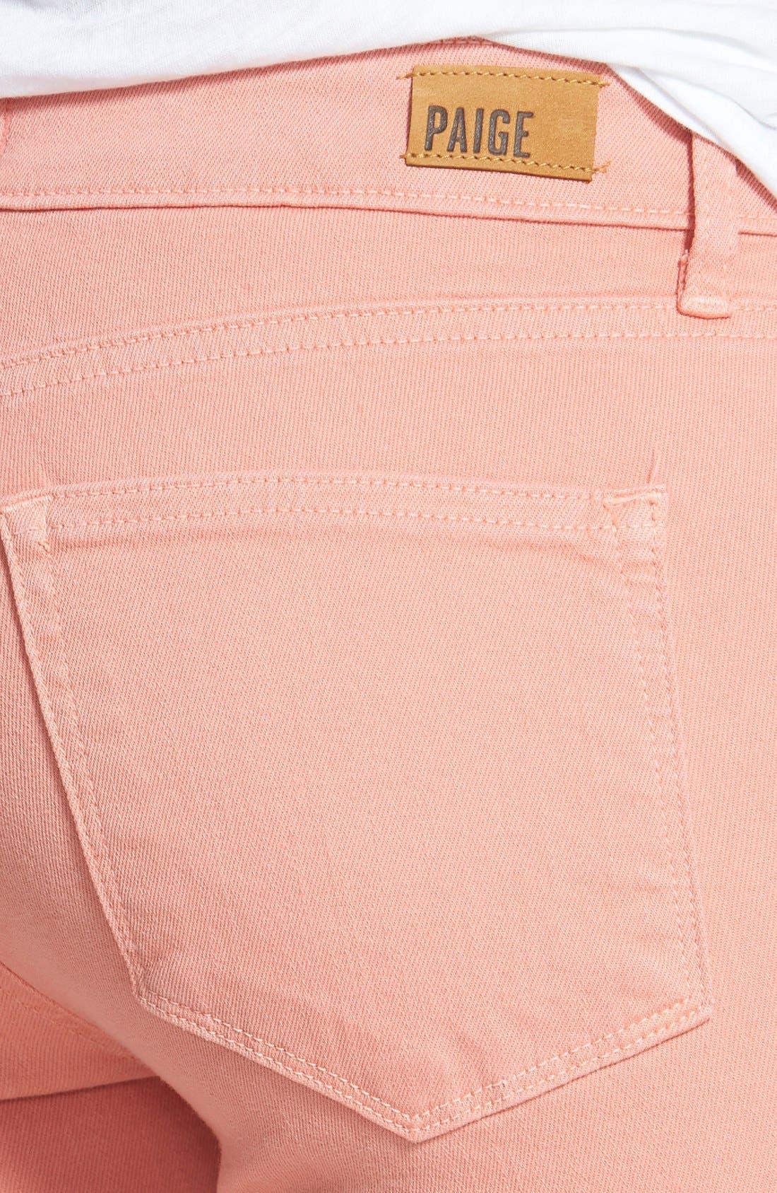 Alternate Image 3  - Paige Denim 'Verdugo' Ankle Super Skinny Jeans (Desert Sunset)