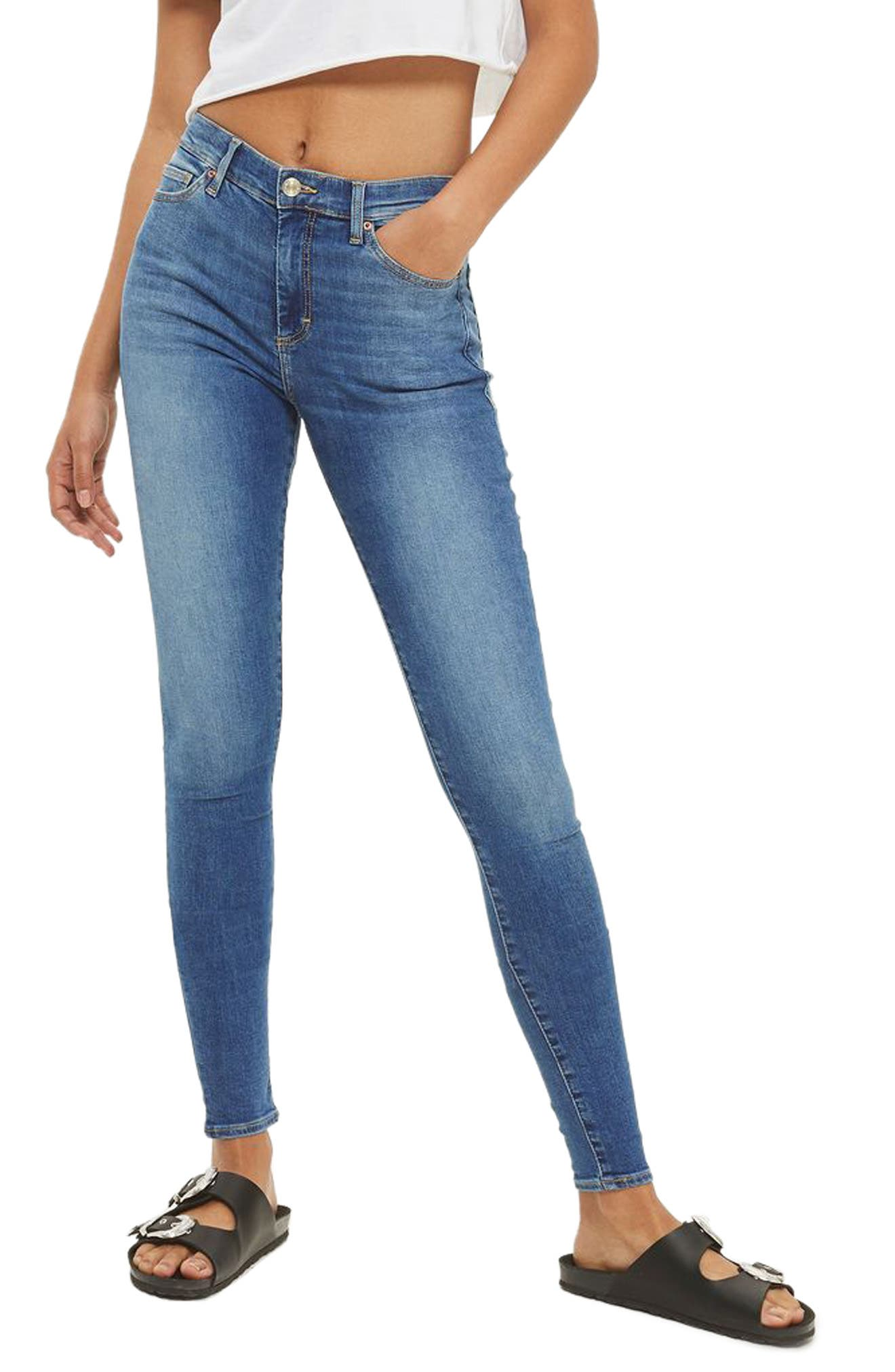Topshop Leigh Ankle Skinny Jeans (Tall)