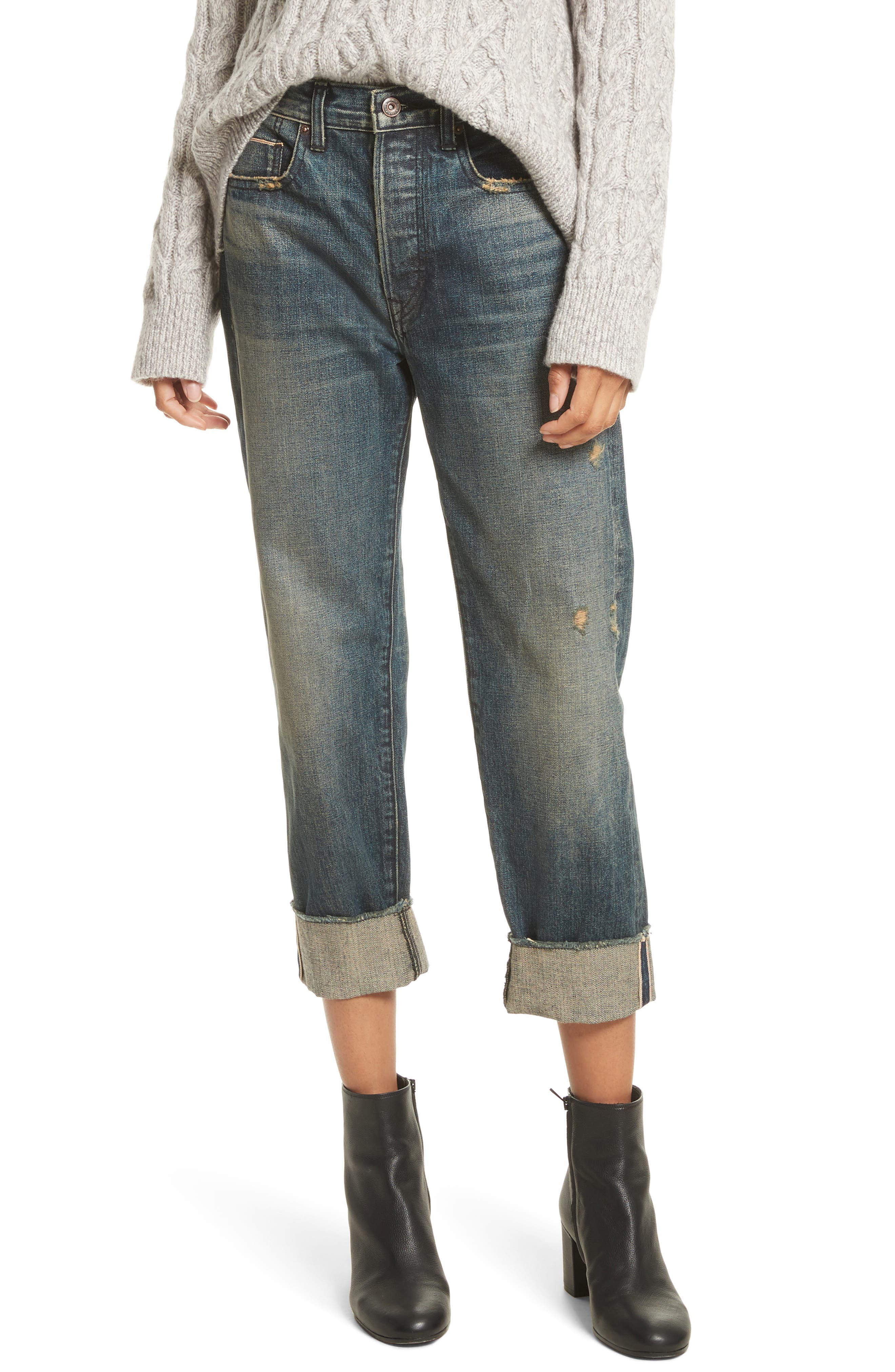 Vince Union Cuffed Slouch Jeans (Heirloom)