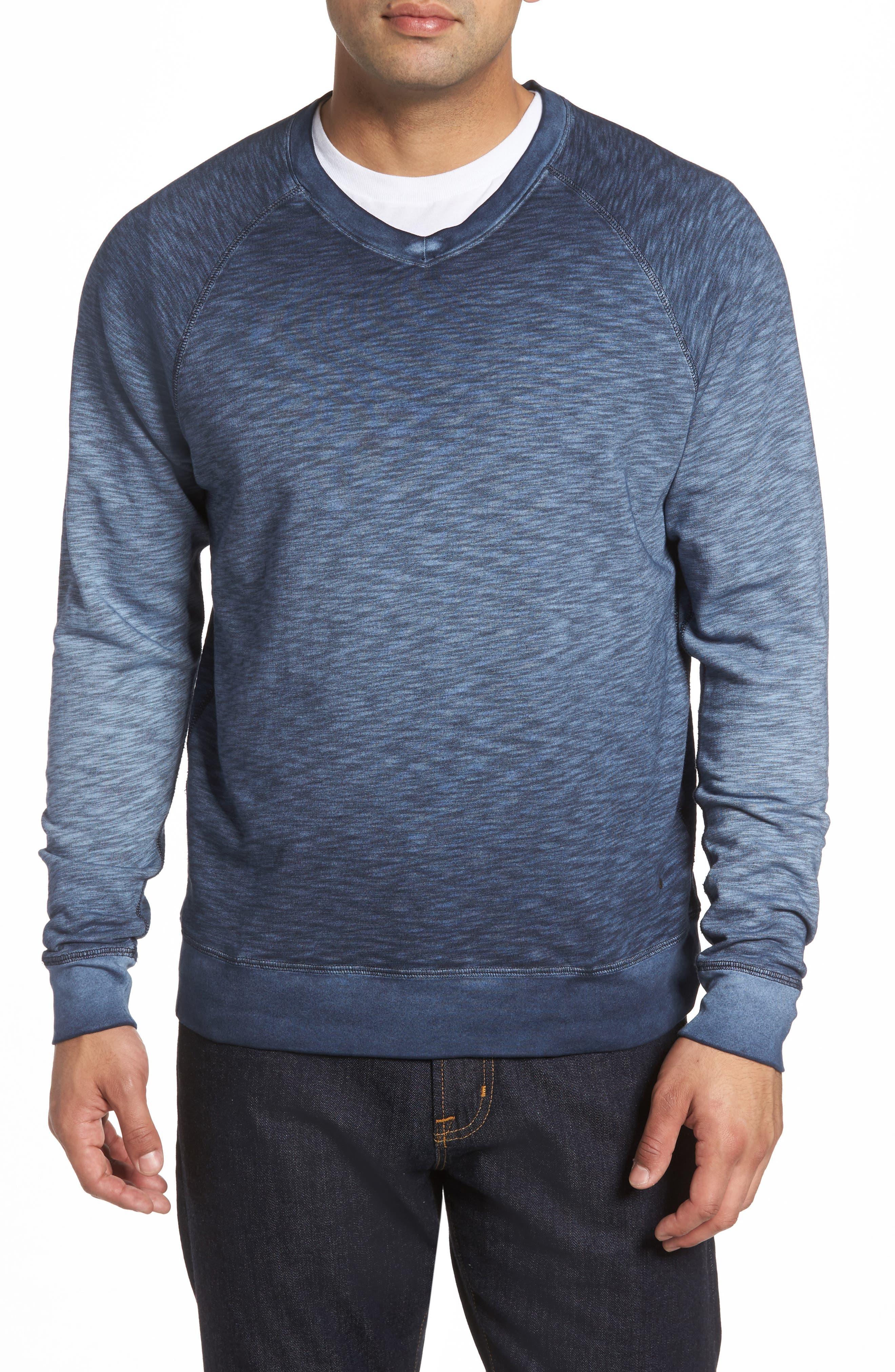 Tommy Bahama Santiago Ombré V-Neck Sweatshirt