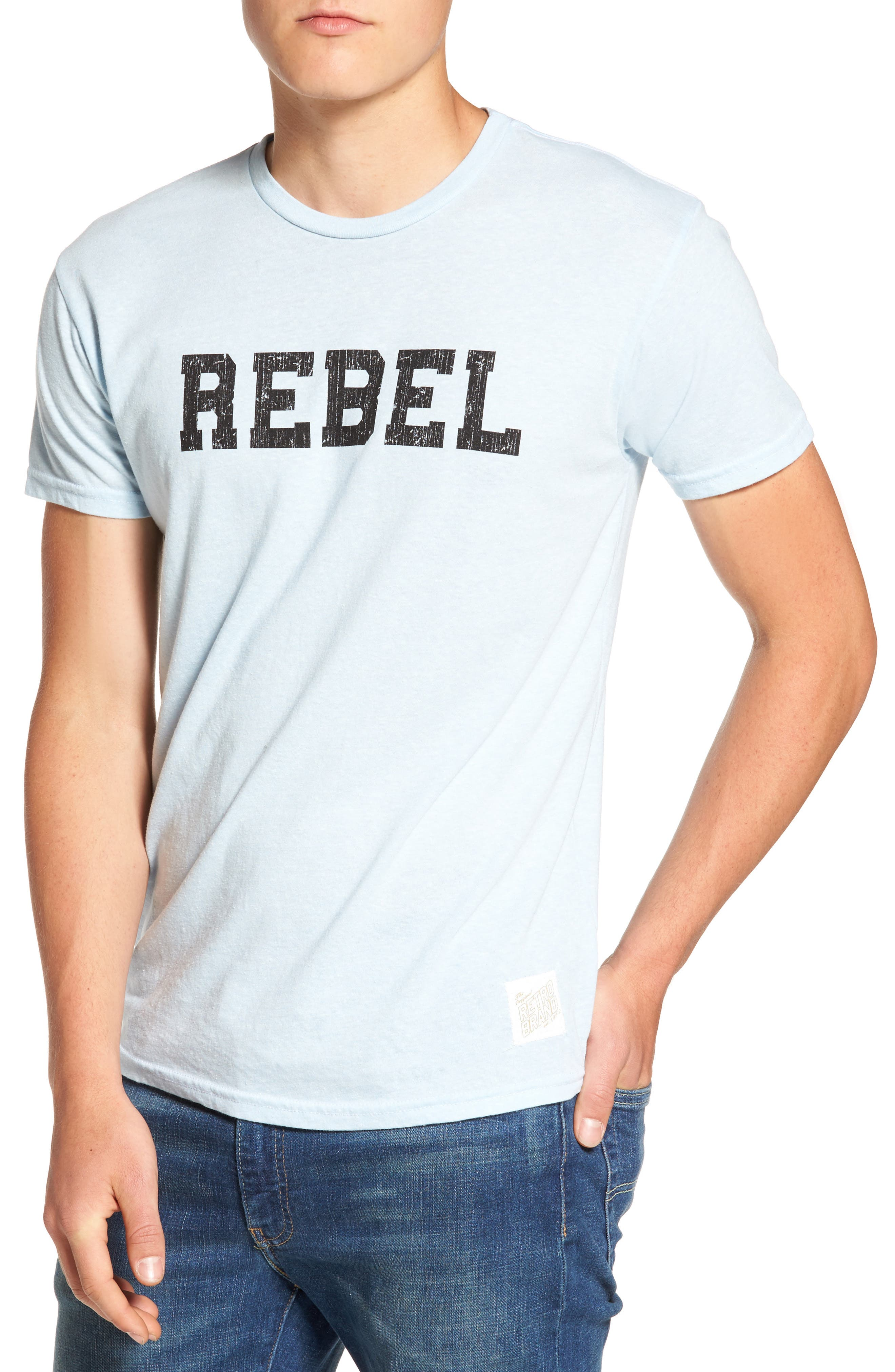 Retro Brand Rebel Graphic T-Shirt