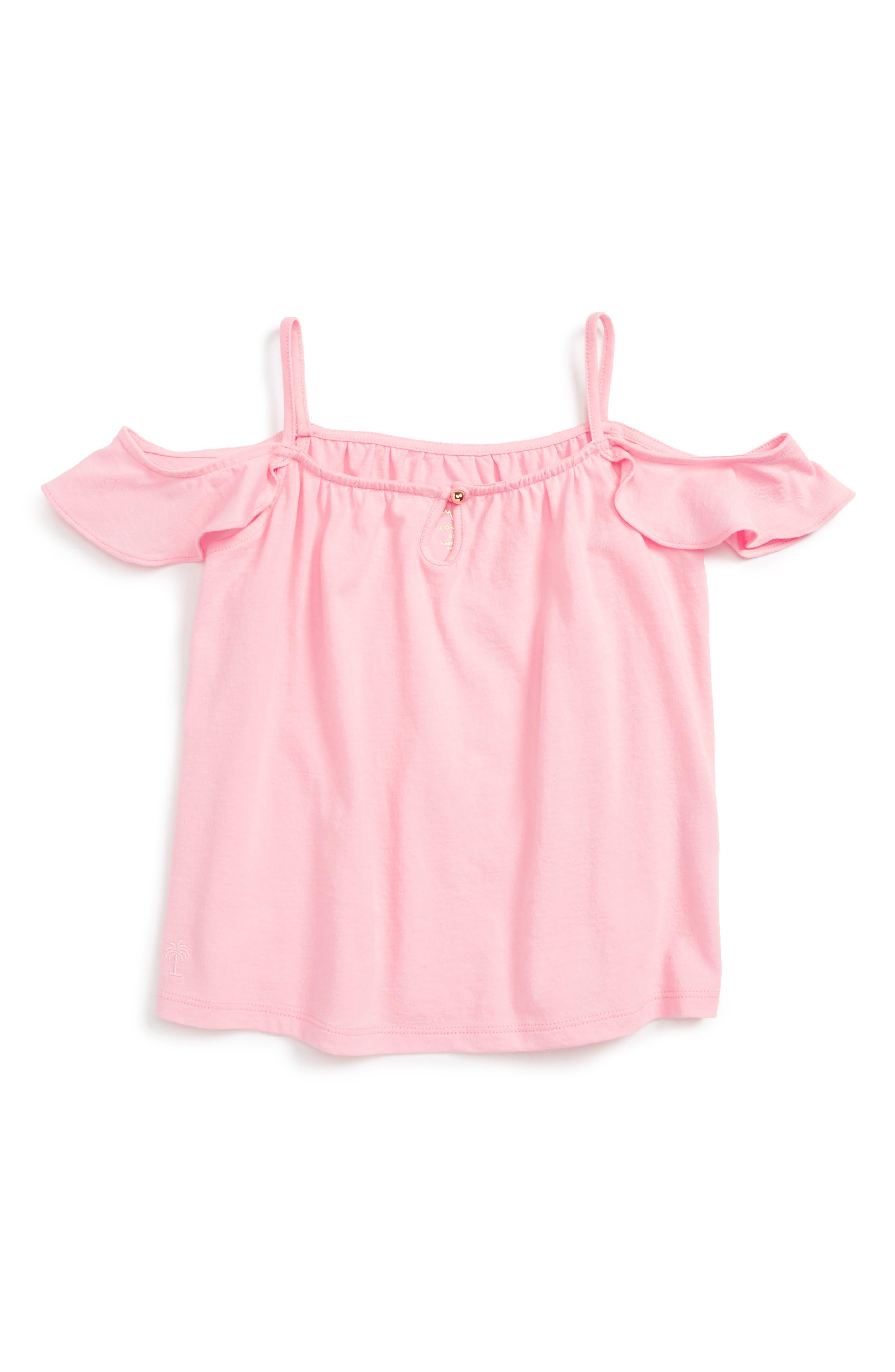 Lilly Pulitzer® Payne Cold Shoulder Top (Toddler Girls, Little Girls & Big Girls)