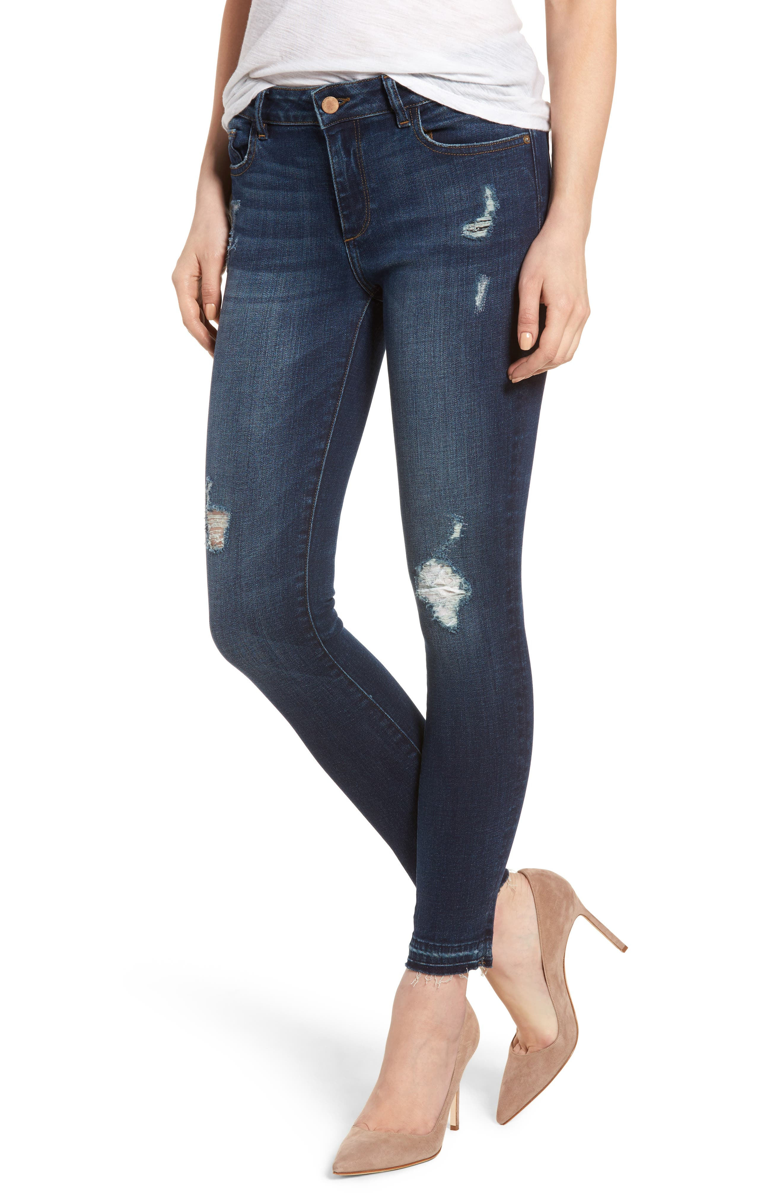 DL1961 Margaux Instasculpt Ankle Skinny Jeans (Theila)