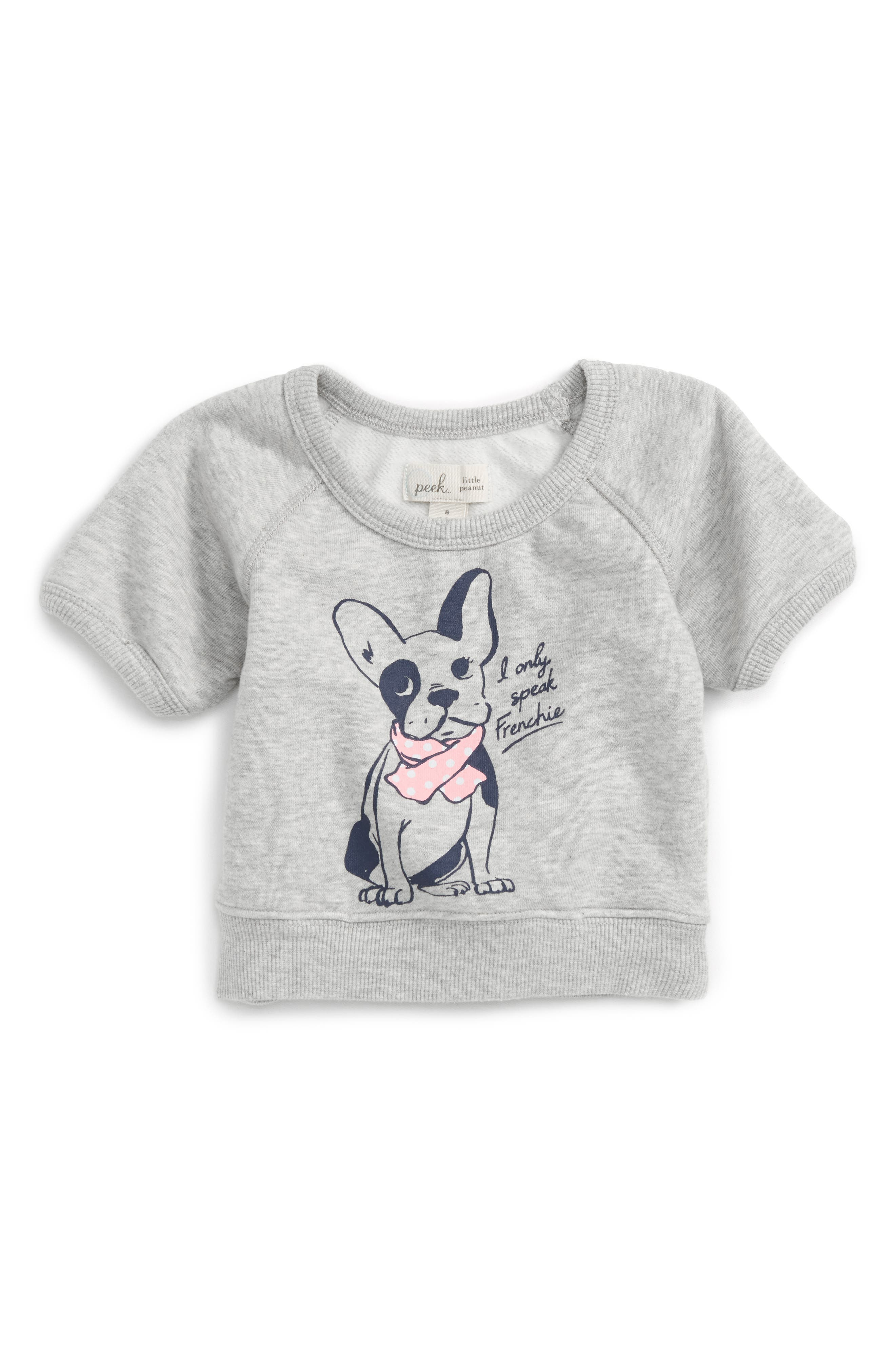 Peek Coco Graphic Tee (Baby Girls)
