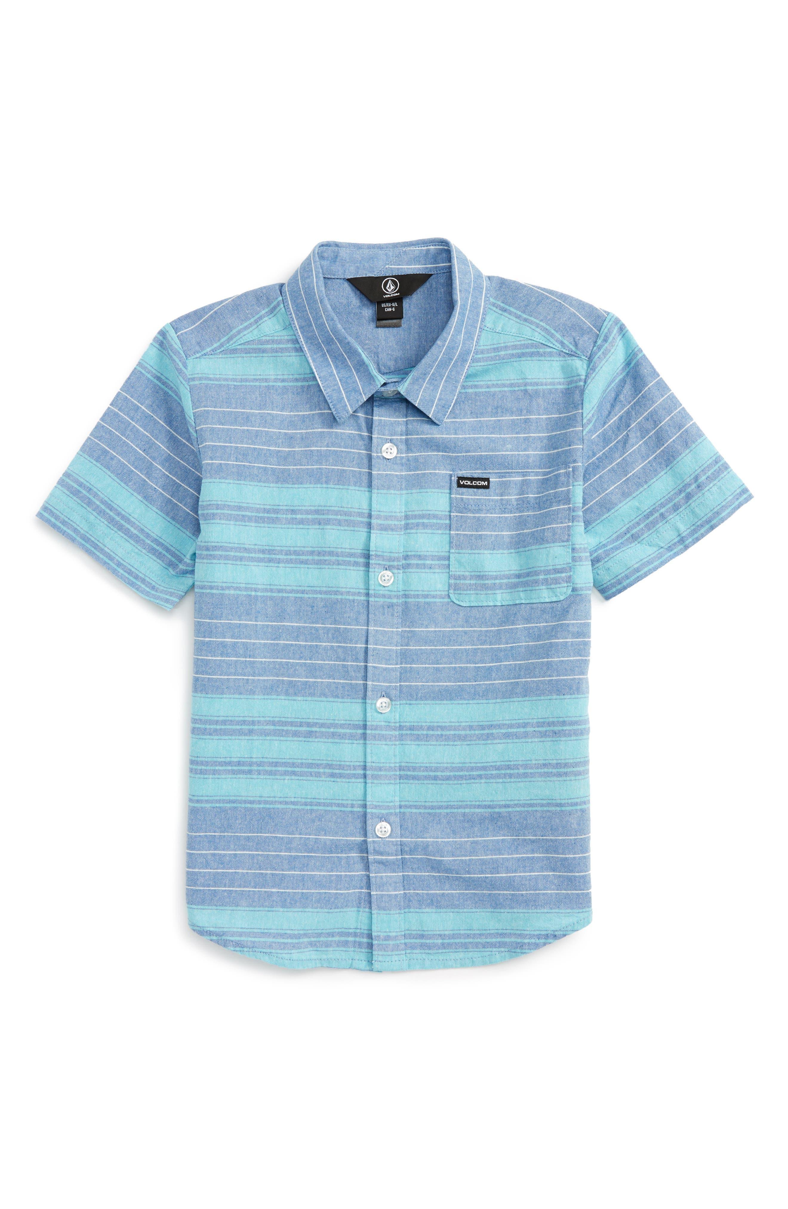 Volcom Meyers Short Sleeve Woven Shirt (Toddler Boys & Little Boys)