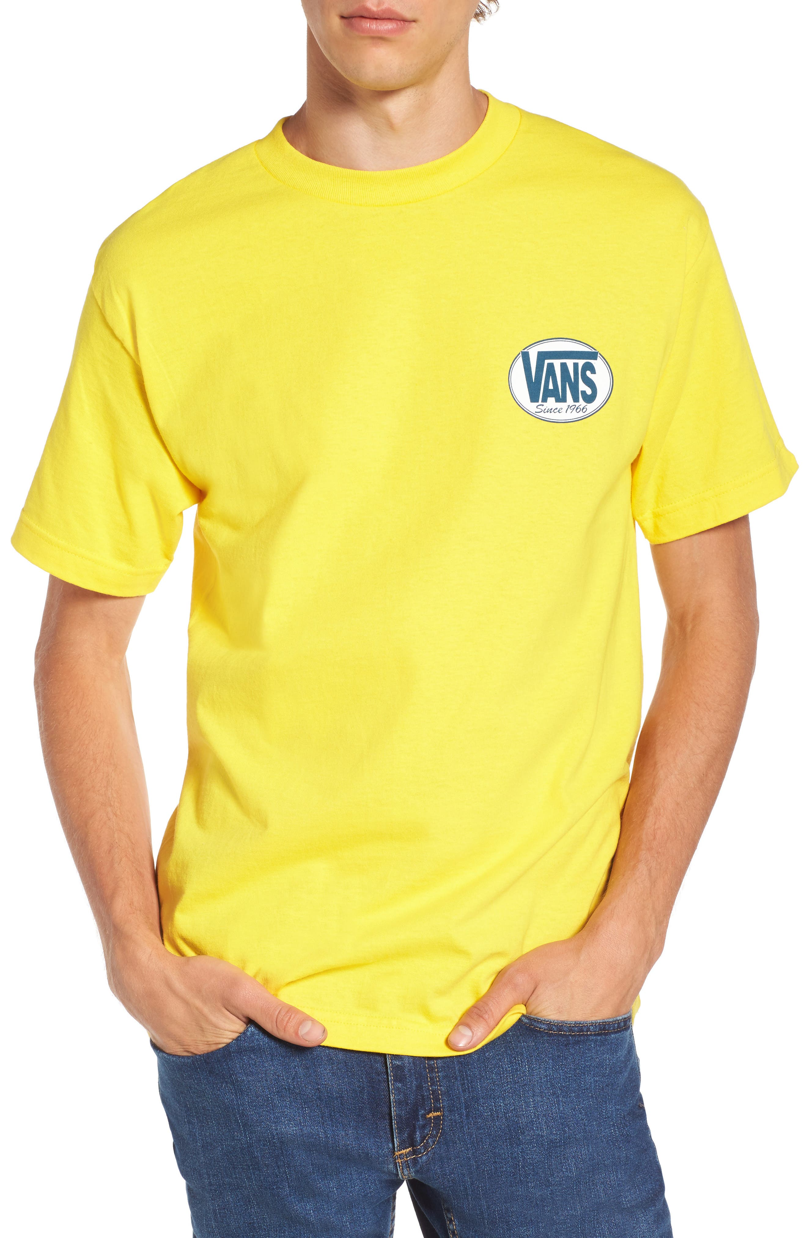 Vans Oval All Logo Graphic T-Shirt
