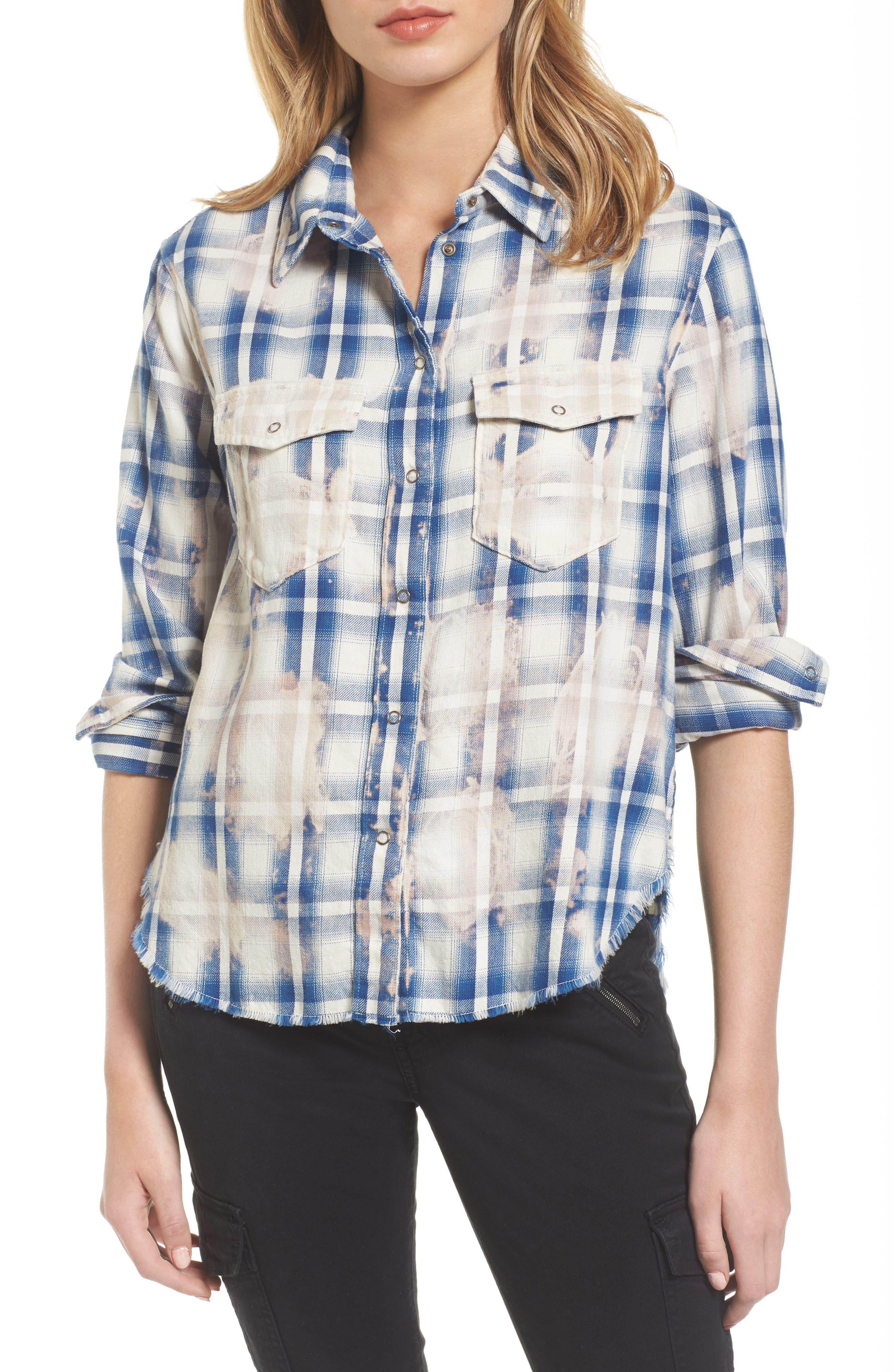 AG Beth Plaid Shirt