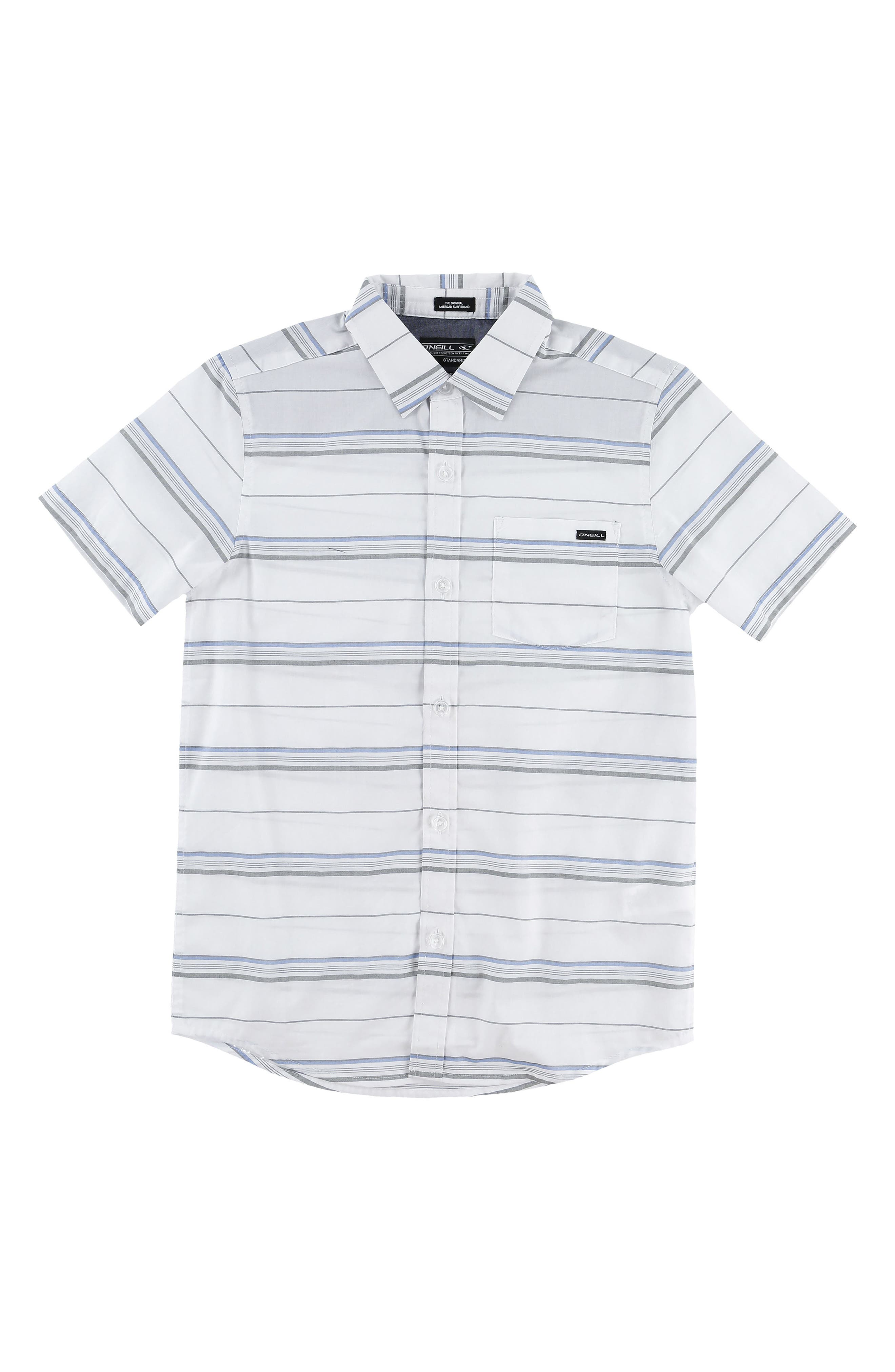O'Neill Stripe Woven Shirt (Big Boys)