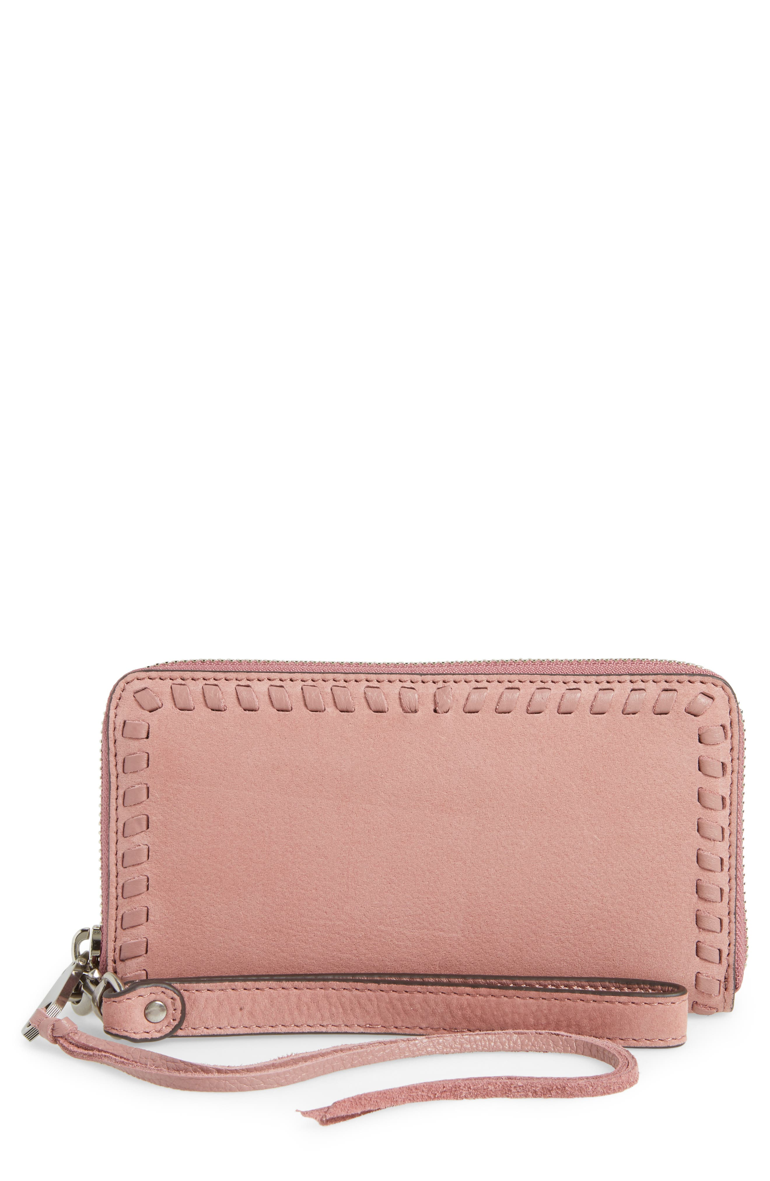 Rebecca Minkoff Vanity Leather Phone Wallet