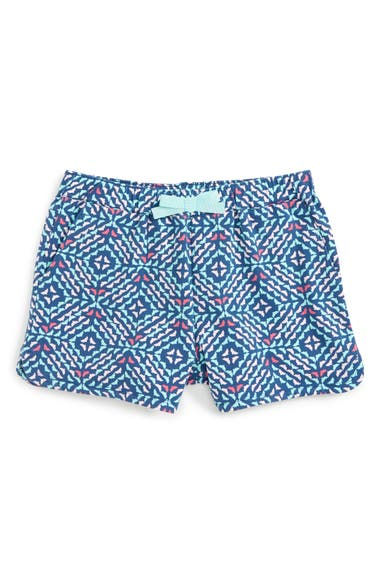 Vineyard Vines Whale Tail Stretch Cotton Shorts (Little Girls & Big Girls)