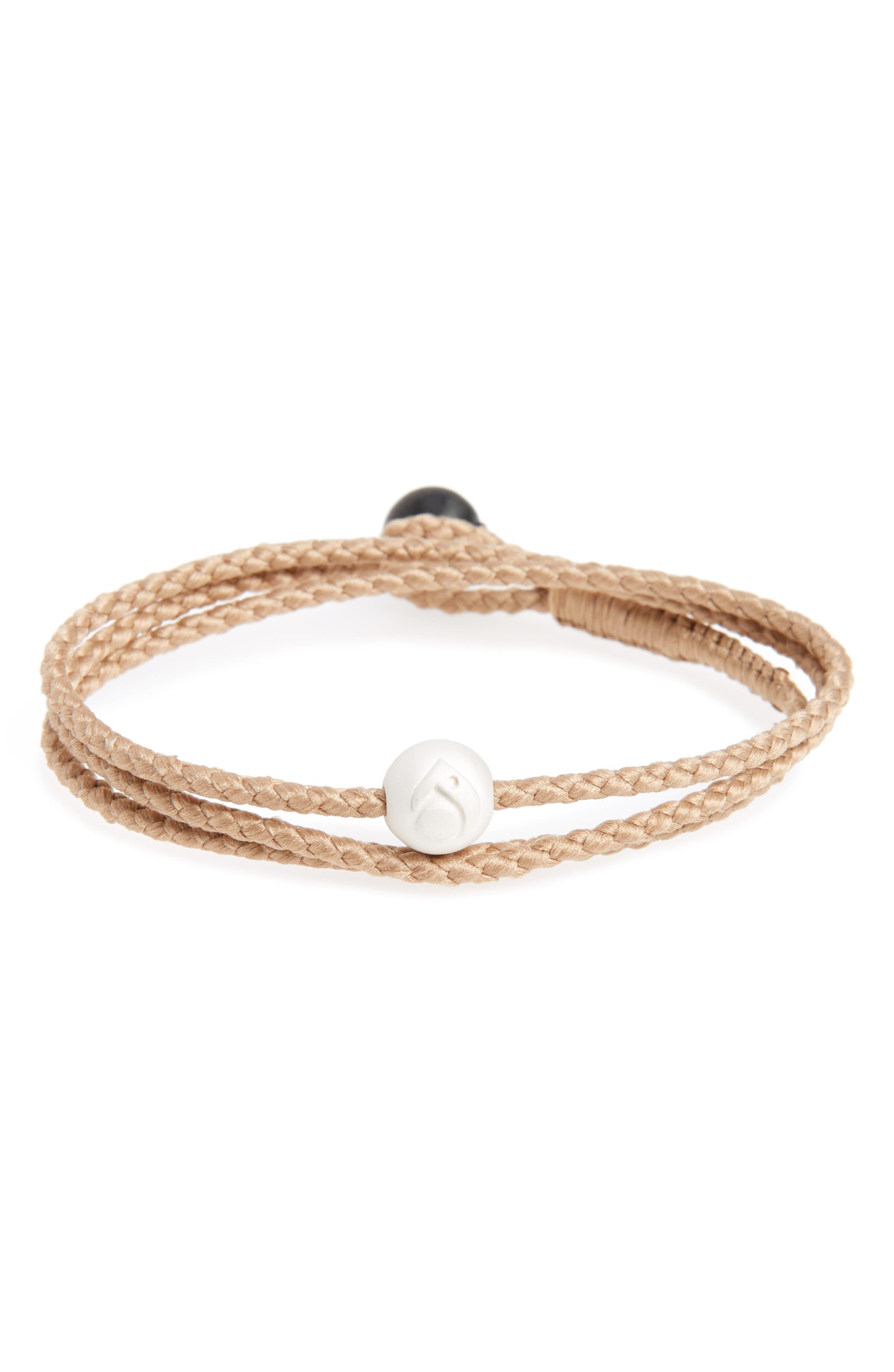 Lokai Sand Triple Wrap Bracelet