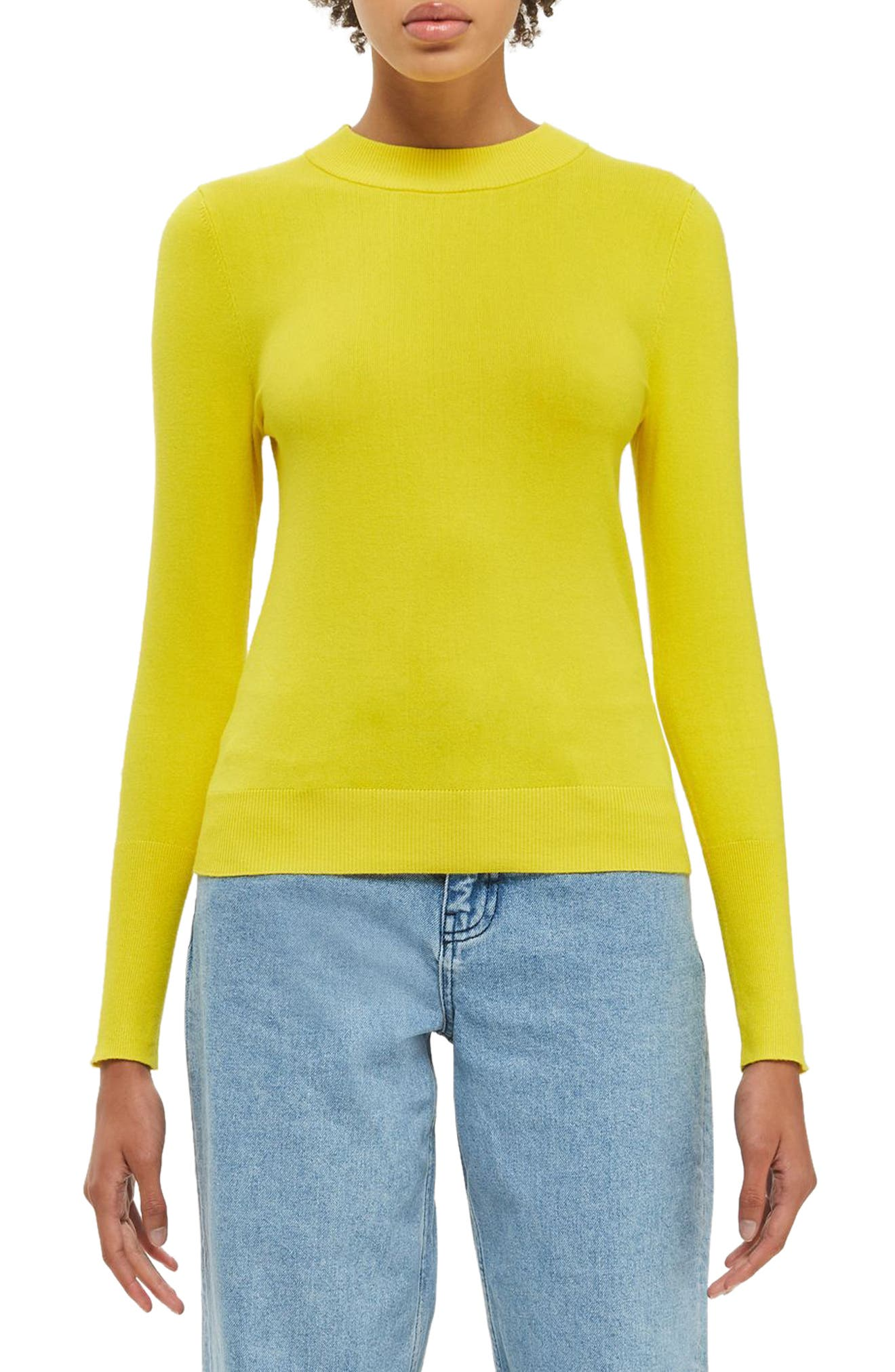 Topshop Boutique Crew Knit Sweater