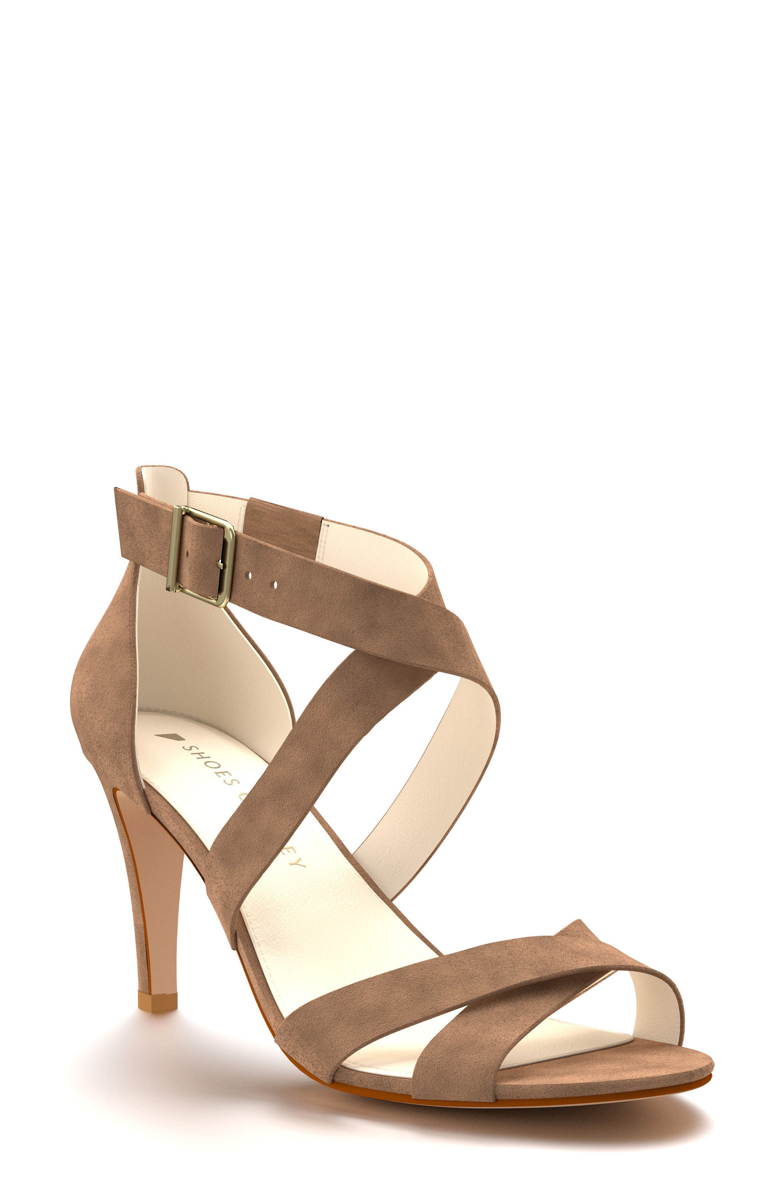 Shoes of Prey Crisscross Strappy Sandal (Women)