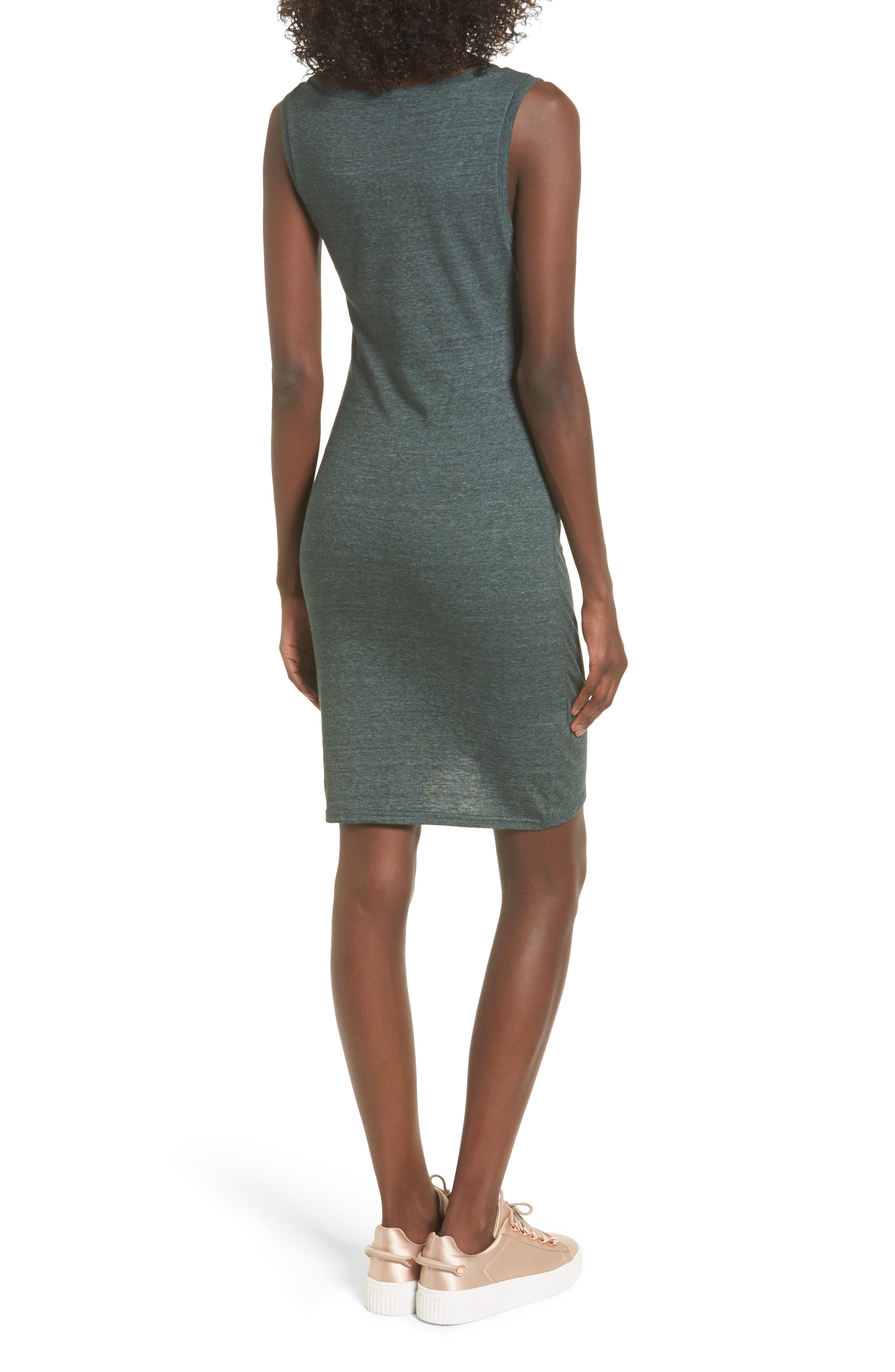 Alternate Image 2  - Leith Ruched Body-Con Tank Dress