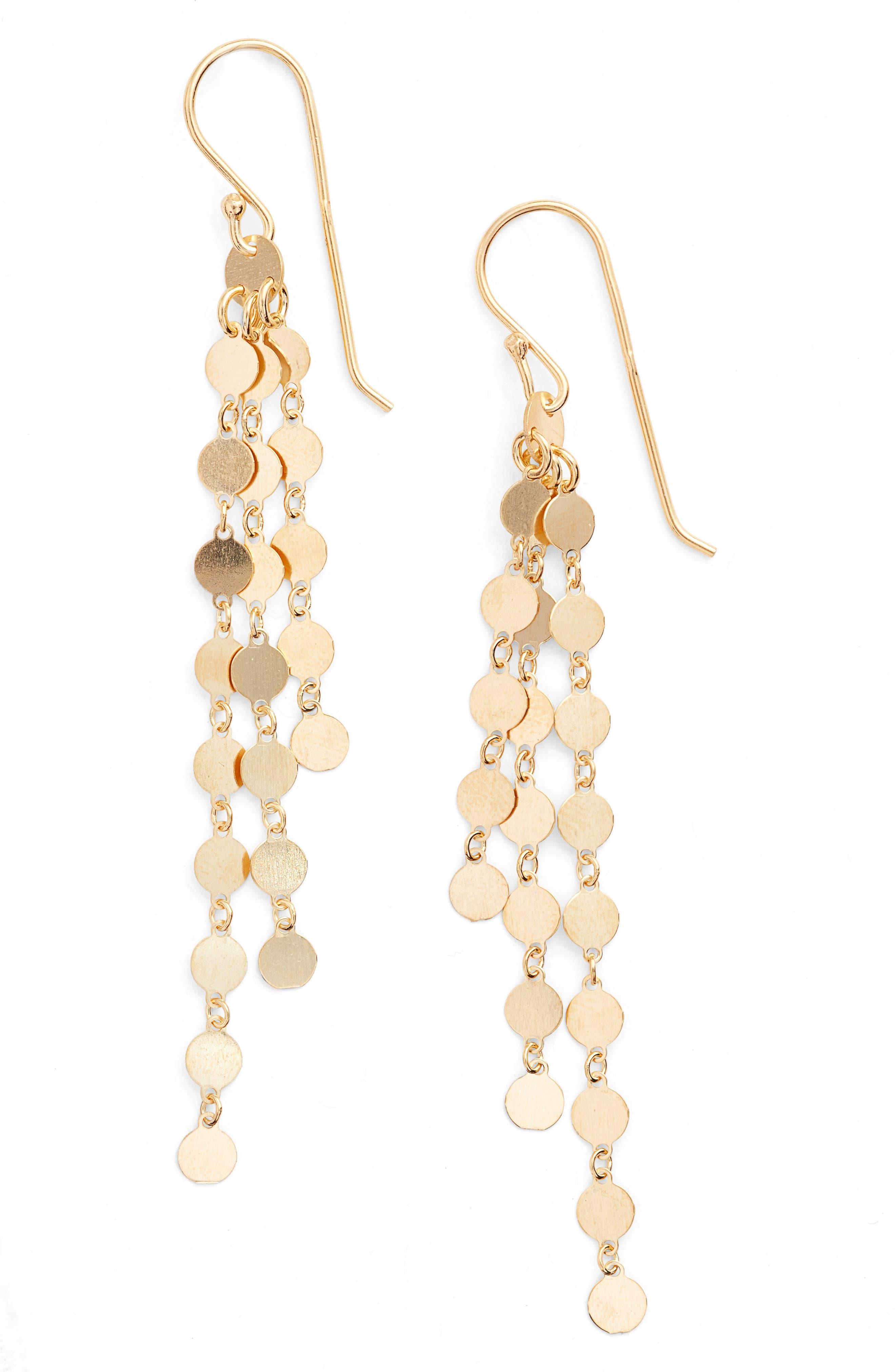 Argento Vivo Link Drop Earrings