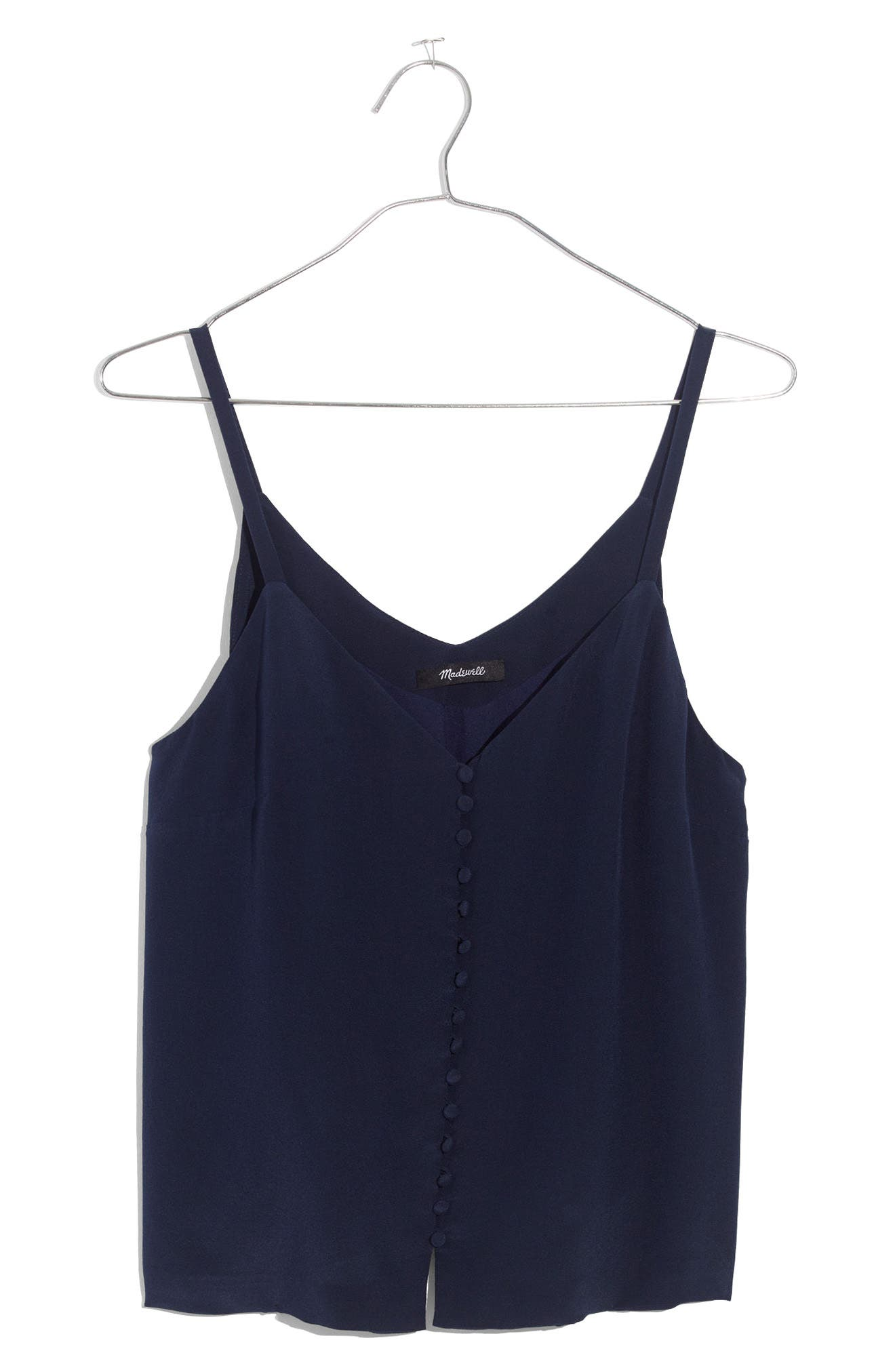 Madewell Silk Button Down Camisole