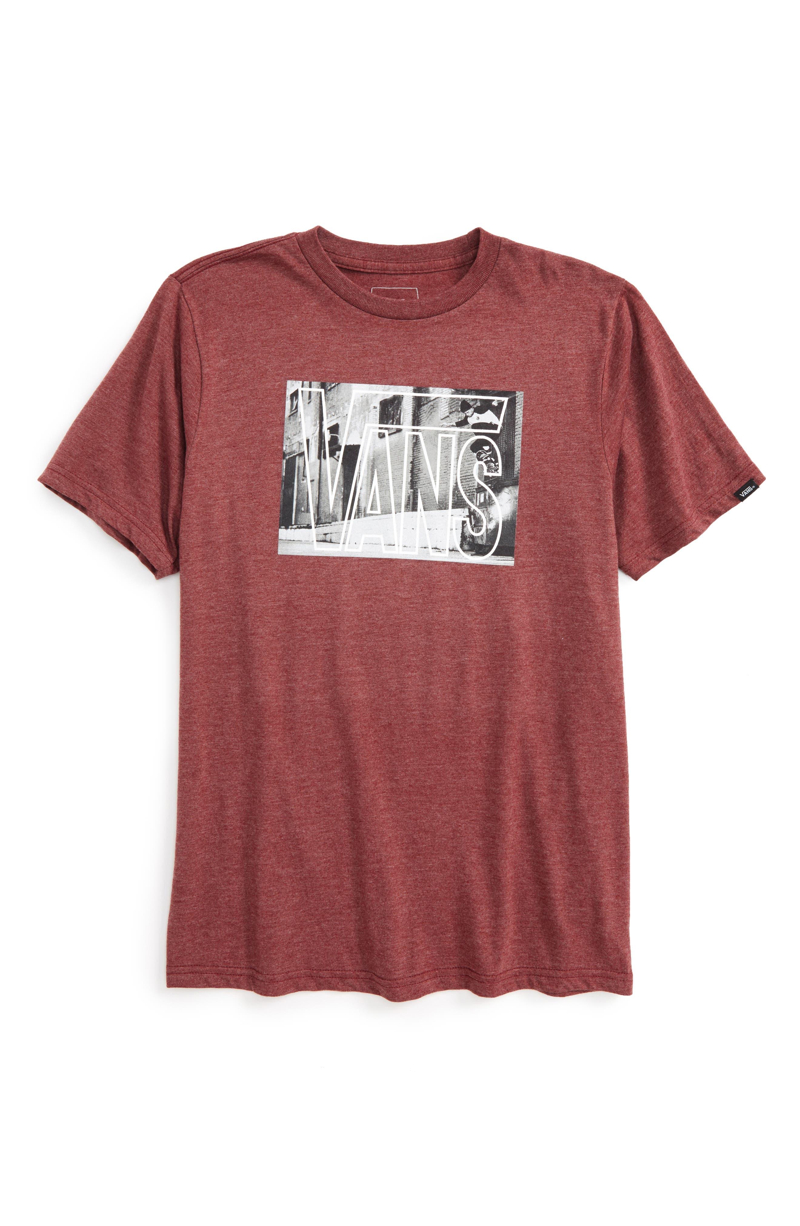 Vans Mixed Media Graphic T-Shirt (Big Boys)