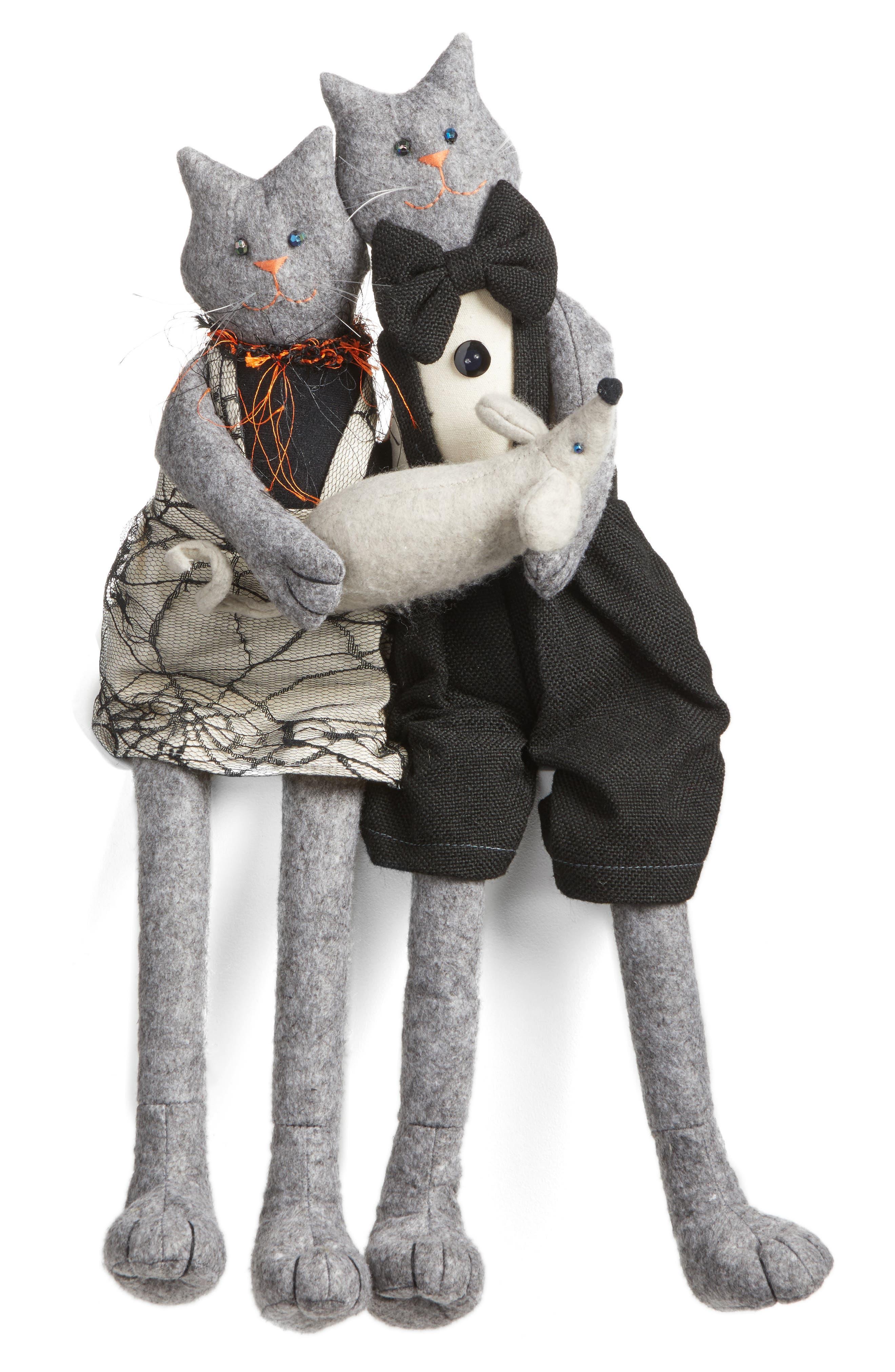 ALLSTATE Mr. & Mrs. Cat Decoration