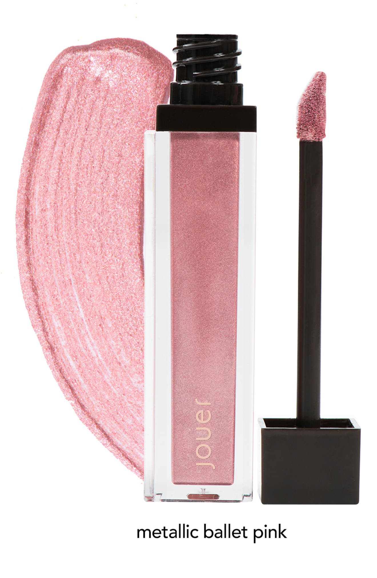 Alternate Image 7  - Jouer Melon & Citronade Rose Long-Wear Lip Crème Liquid Lipstick Duo