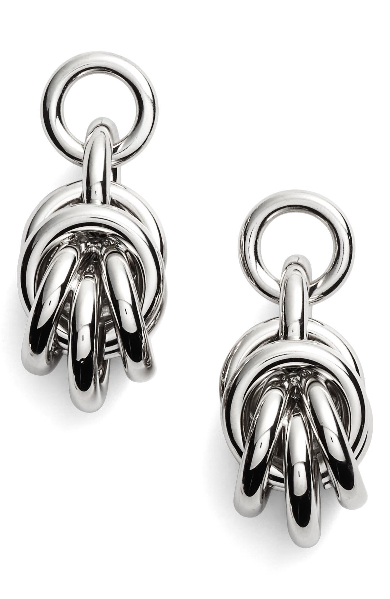 Alexander Wang Knot Drop Earrings