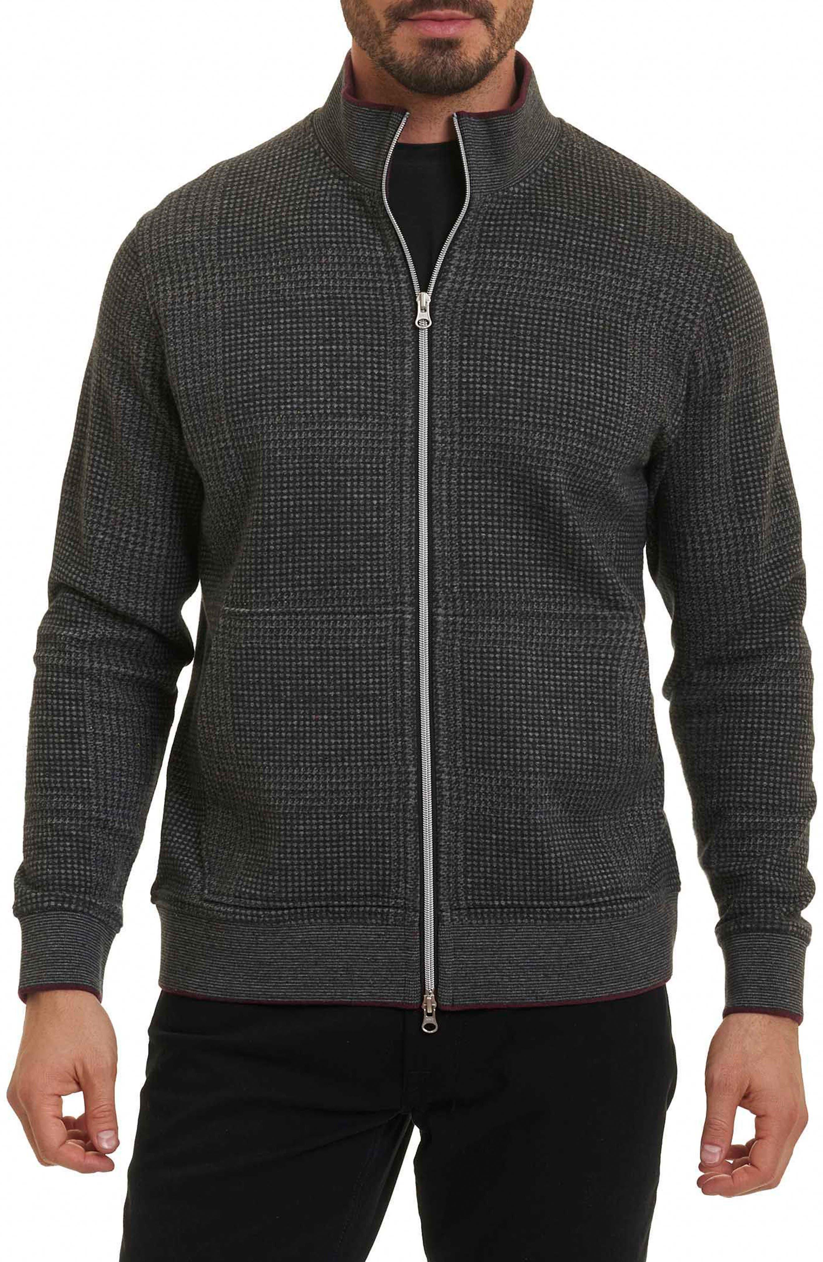 Robert Graham Hyde Park Zip Knit Jacket
