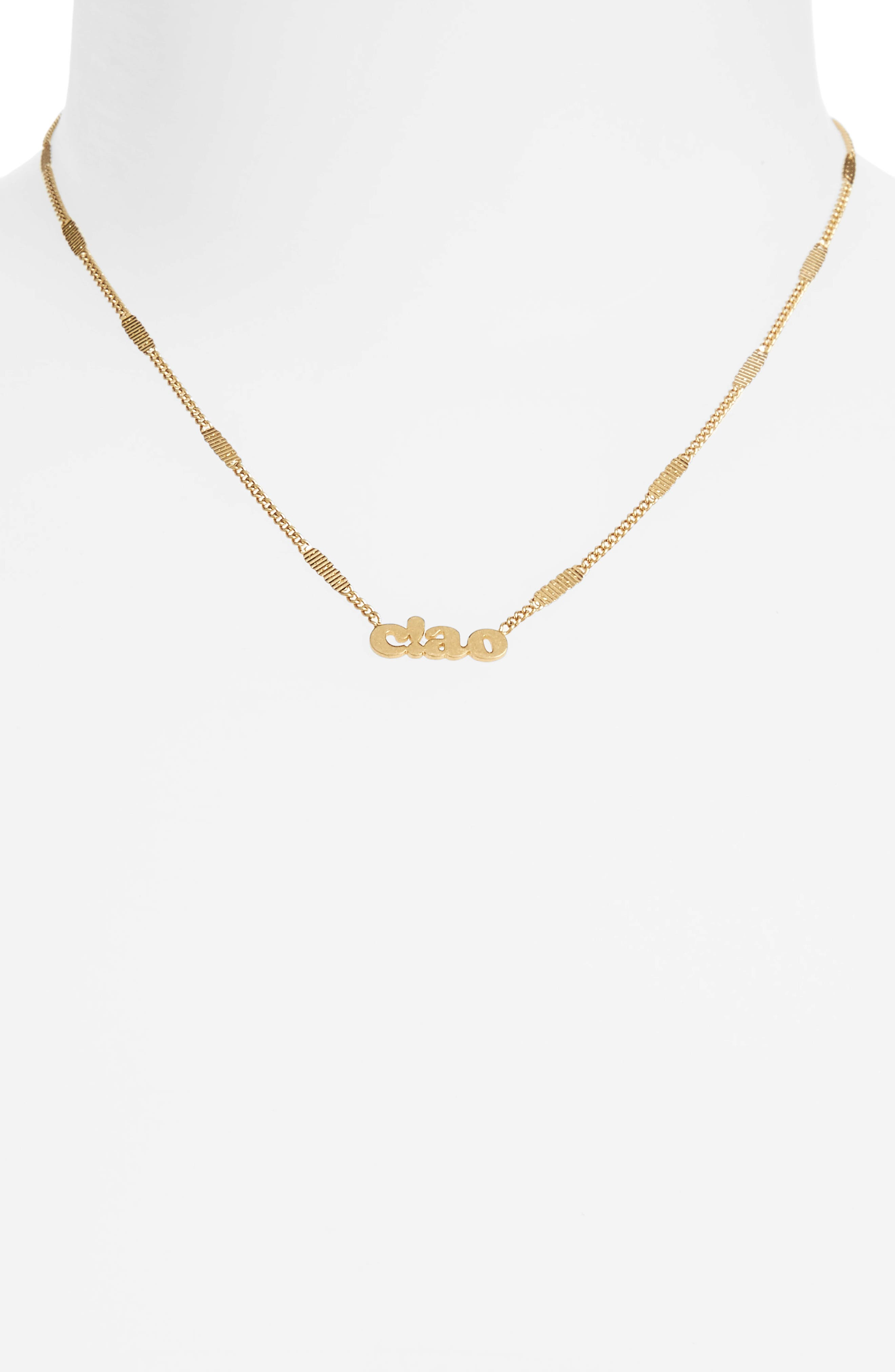 Madewell Ciao Necklace