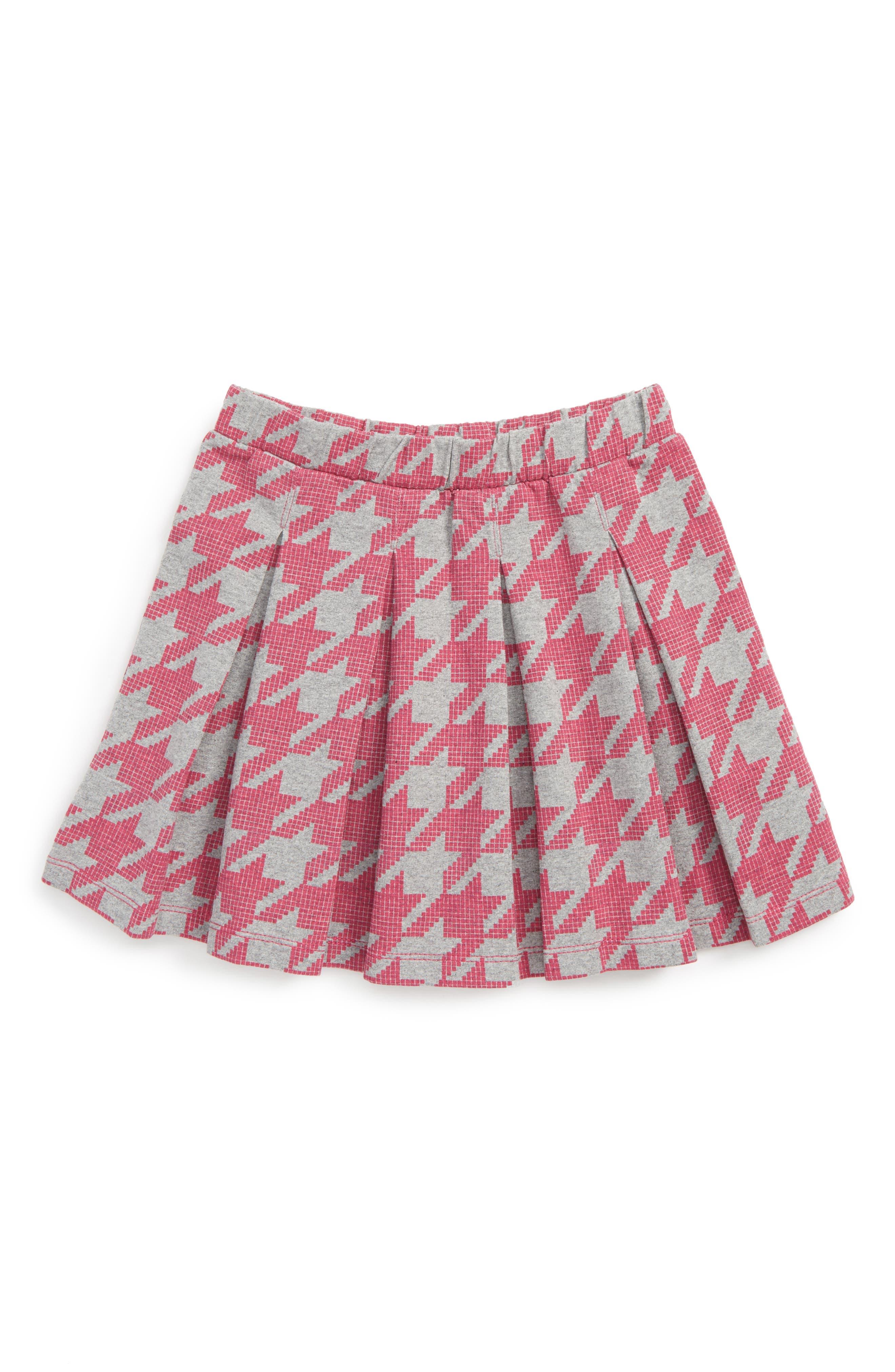 Tea Collection Houndstooth Skirt (Toddler Girls, Little Girls & Big Girls)