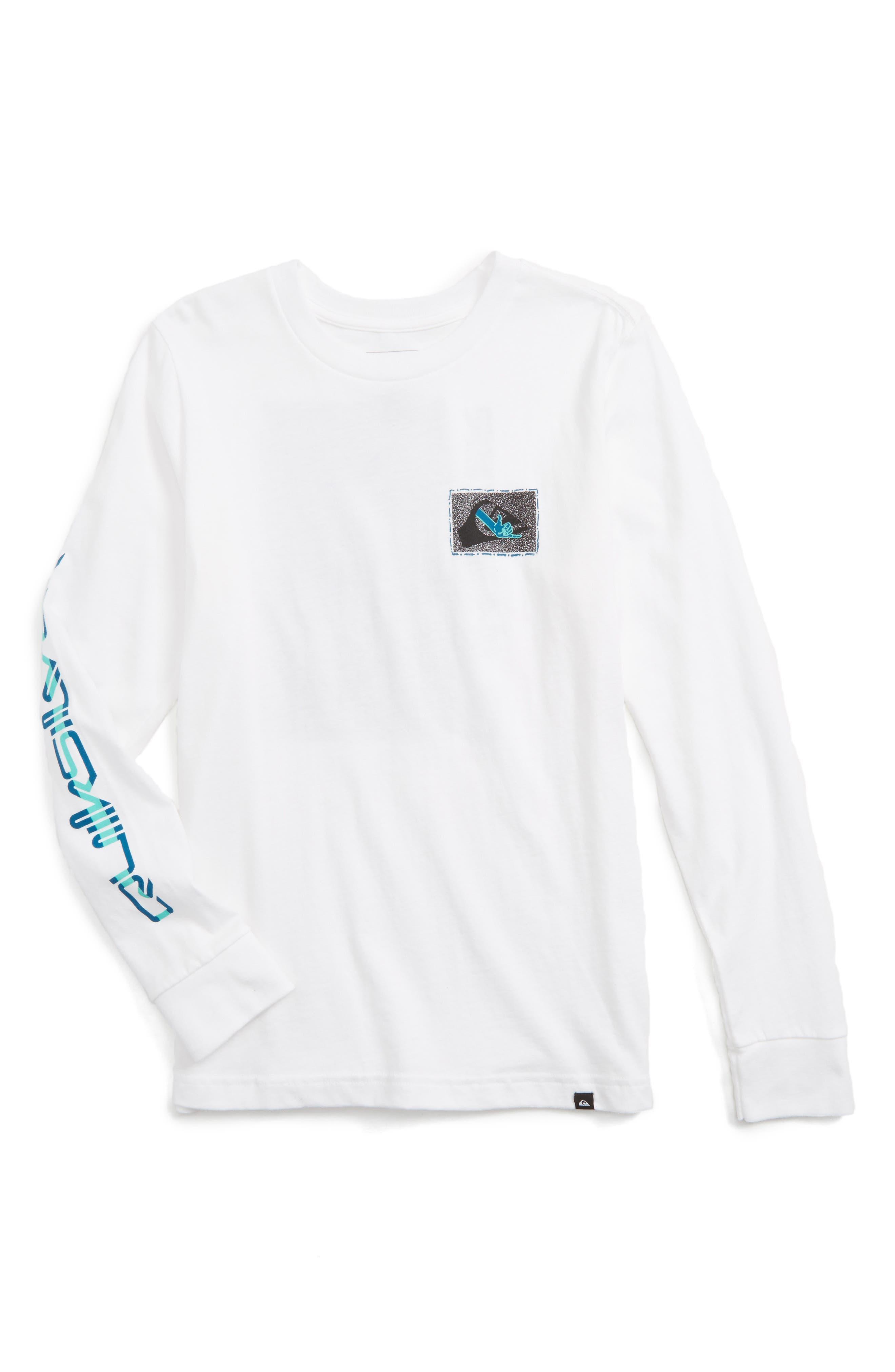 Quiksilver Shaka Screenprint T-Shirt (Big Boys)