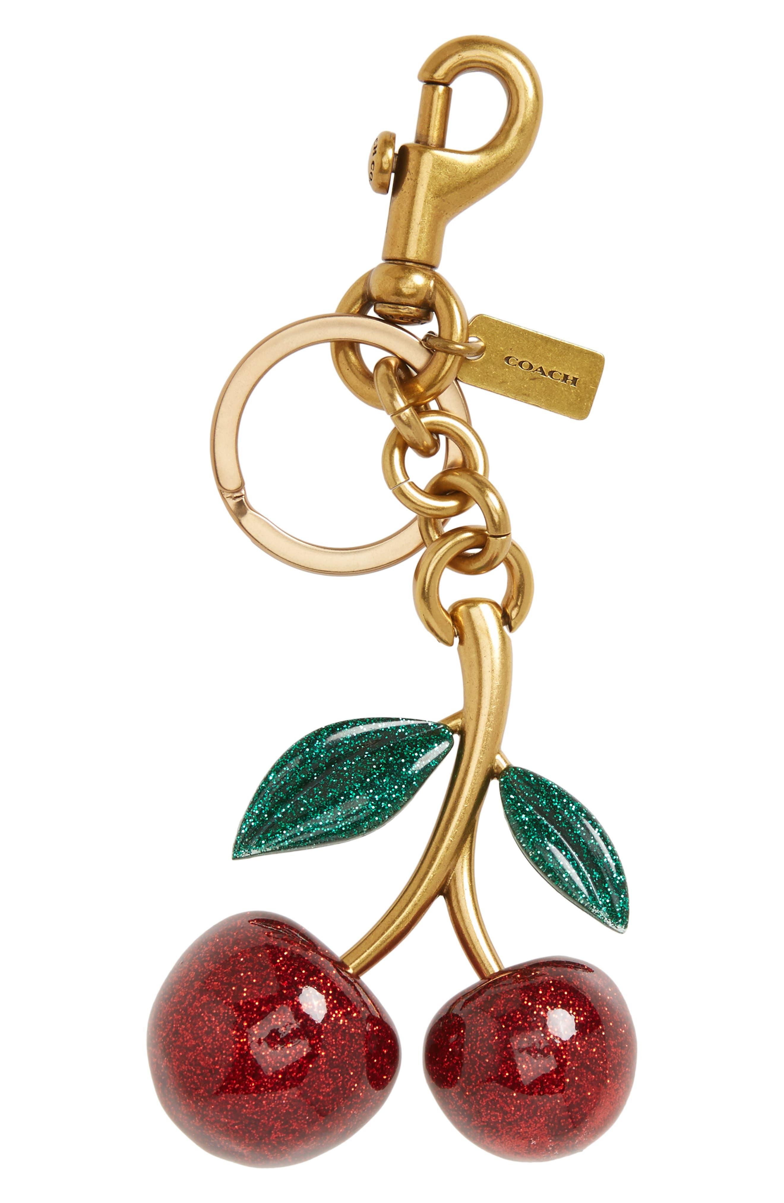 COACH 1941 Cherry Bag Charm