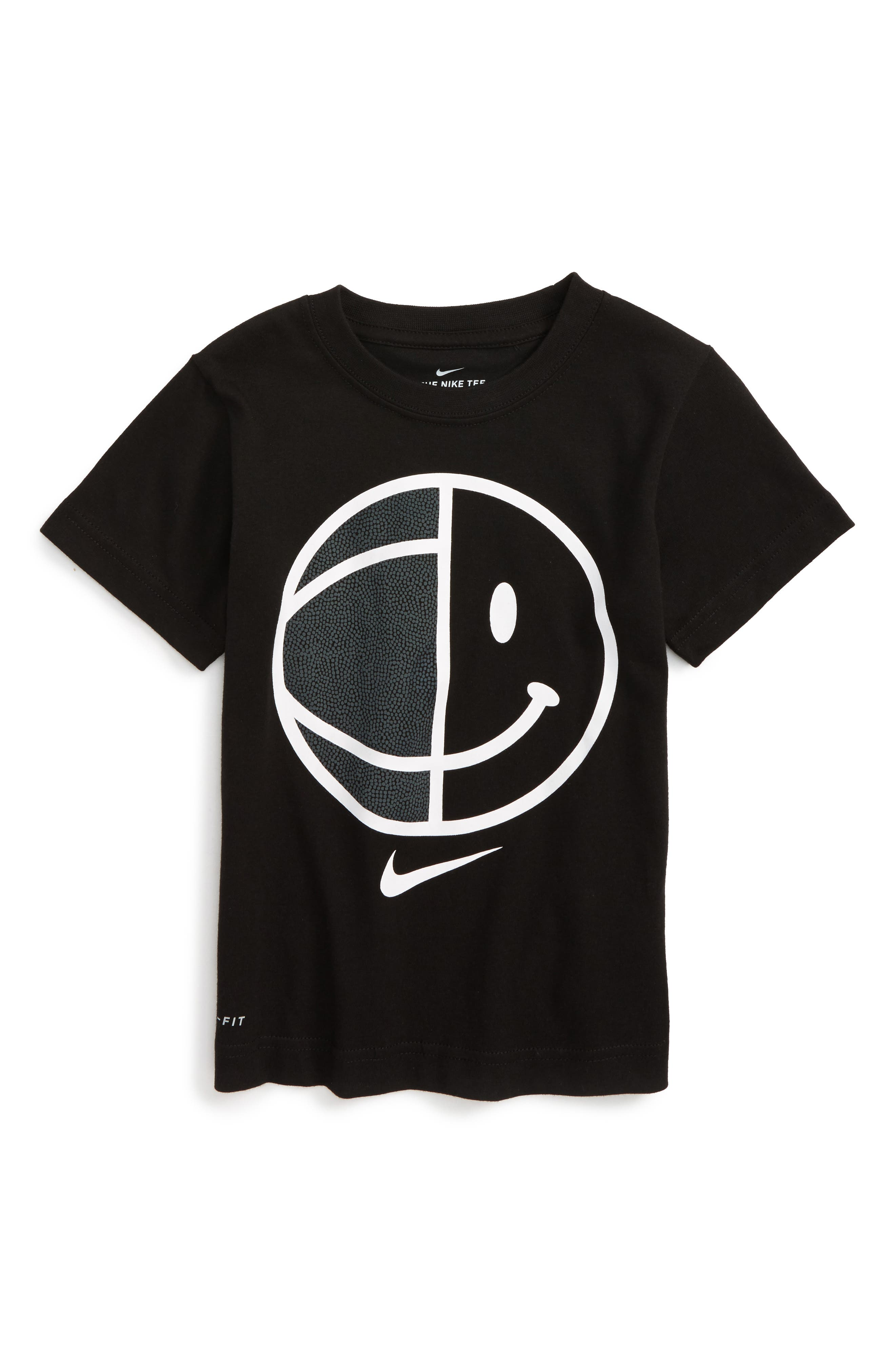 Nike Dry Smiley B-Ball Graphic T-Shirt (Toddler Boys & Little Boys)