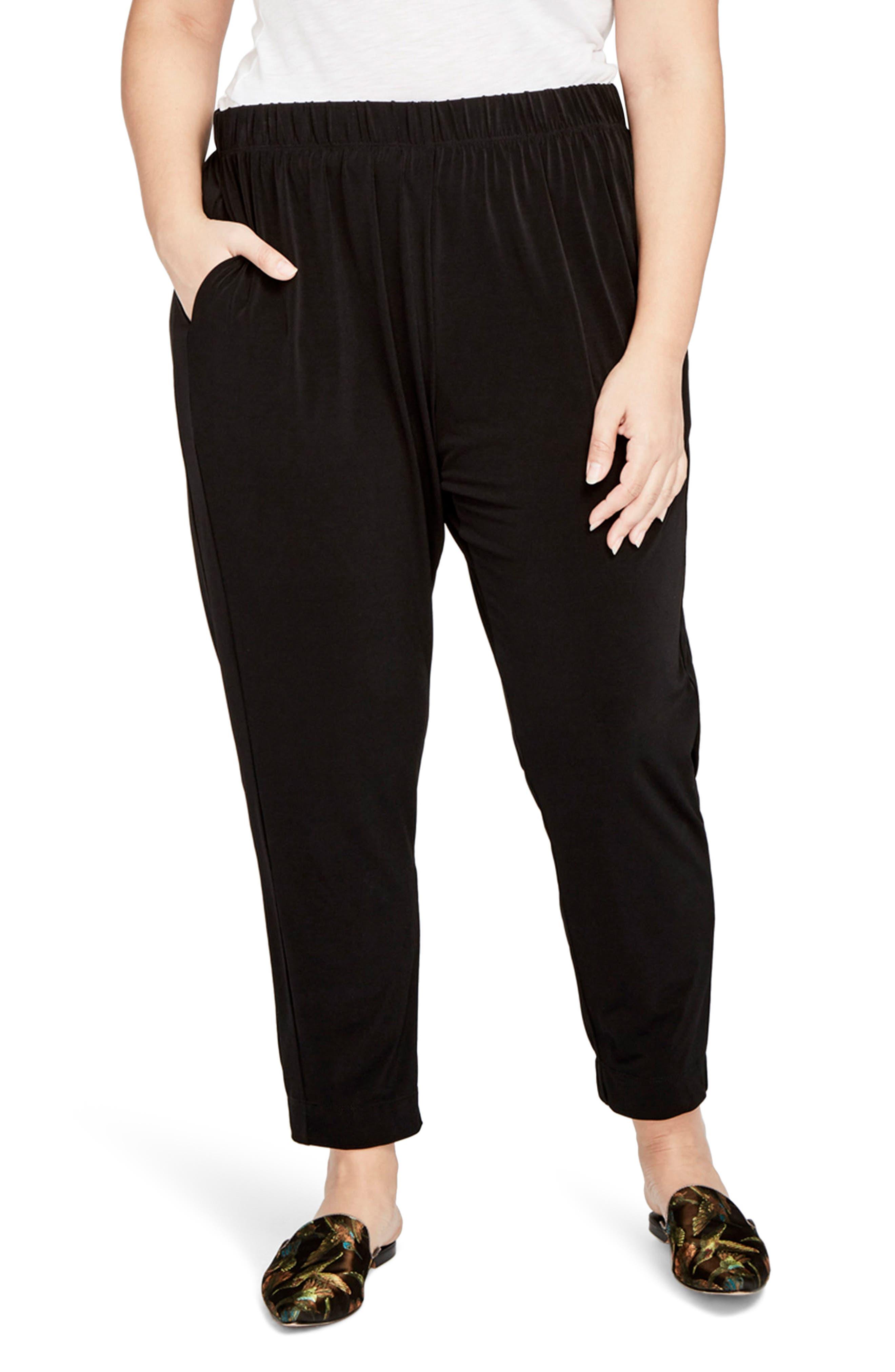 RACHEL Rachel Roy Pull-On Jogger Pants (Plus Size)