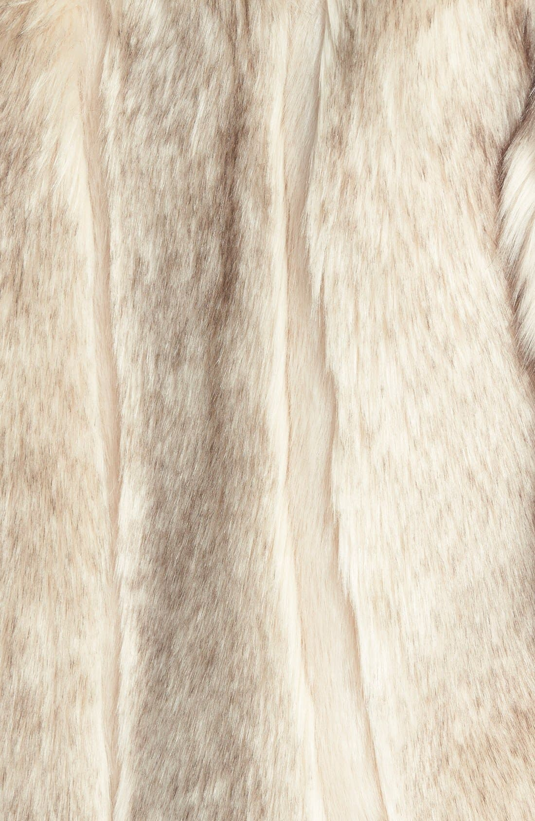 Alternate Image 3  - Topshop 'Leah' Faux Fur Coat