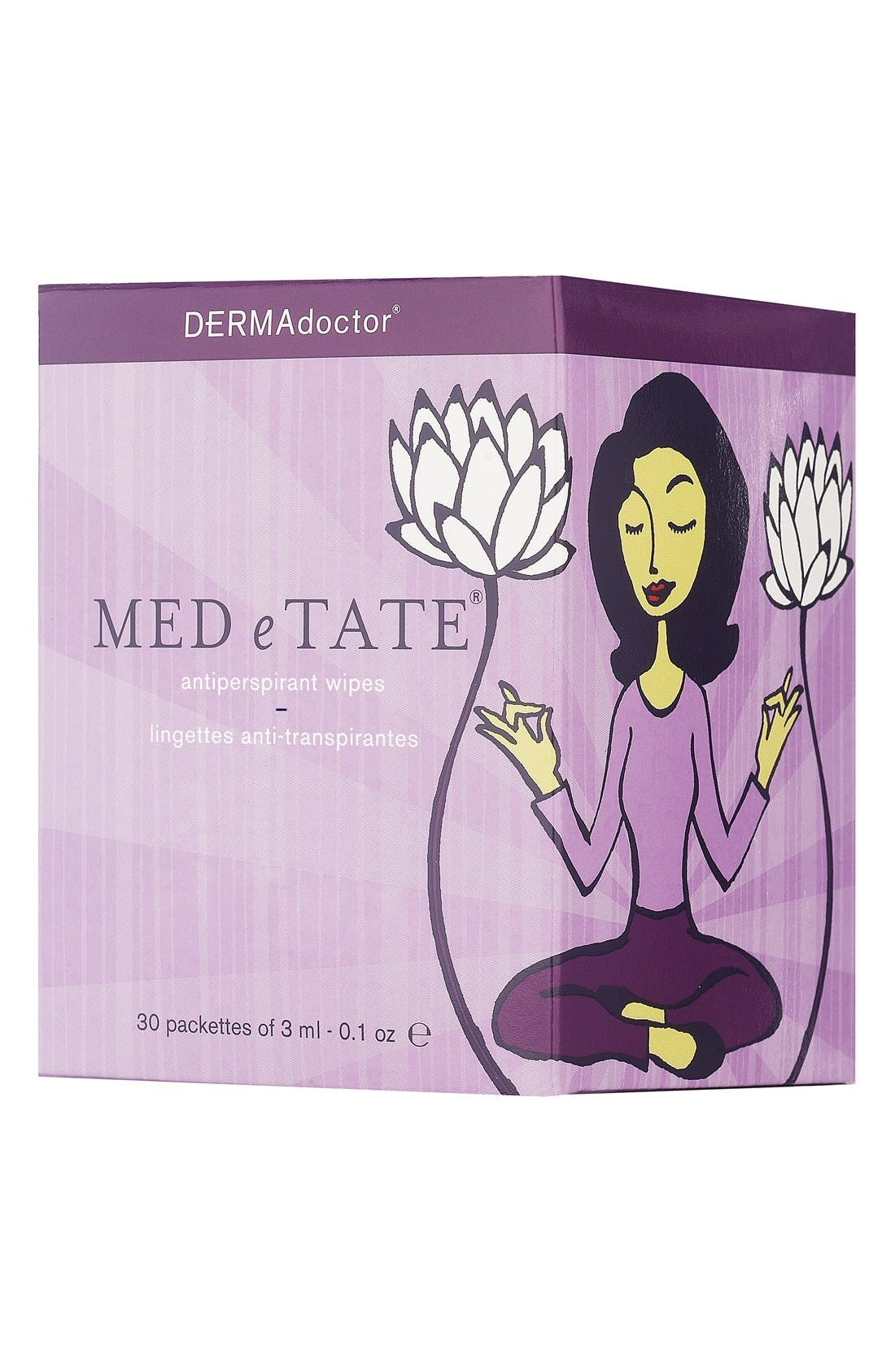 DERMAdoctor® 'MED e TATE®' Antiperspirant Wipes