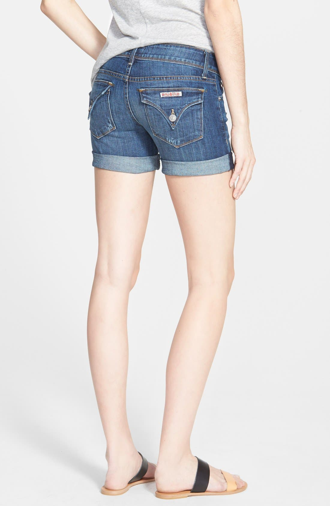 Alternate Image 2  - Hudson Jeans 'Croxley' Cuffed Denim Shorts (Connection)