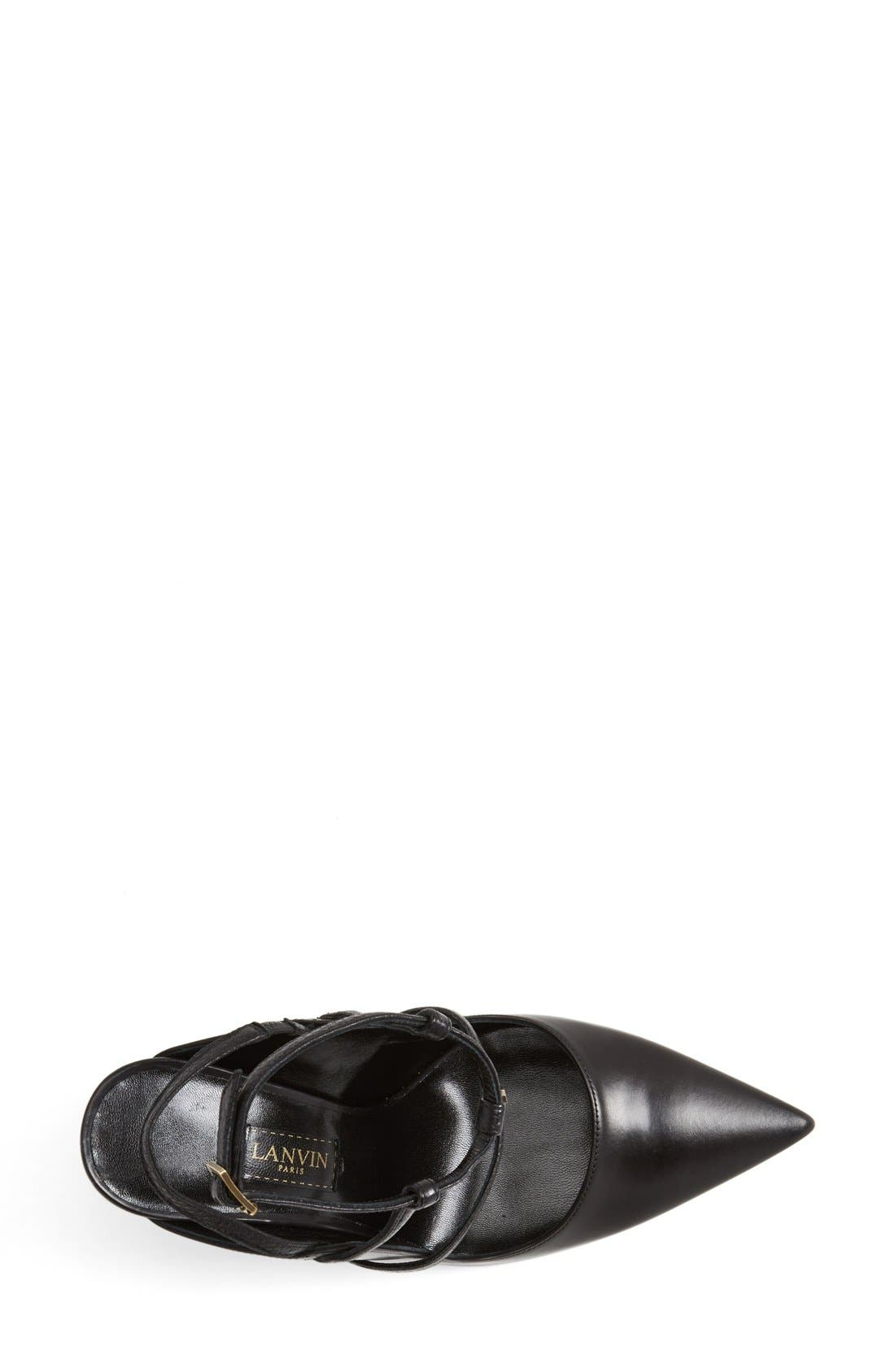Alternate Image 3  - Lanvin Studded T-Strap Leather Pump (Women)