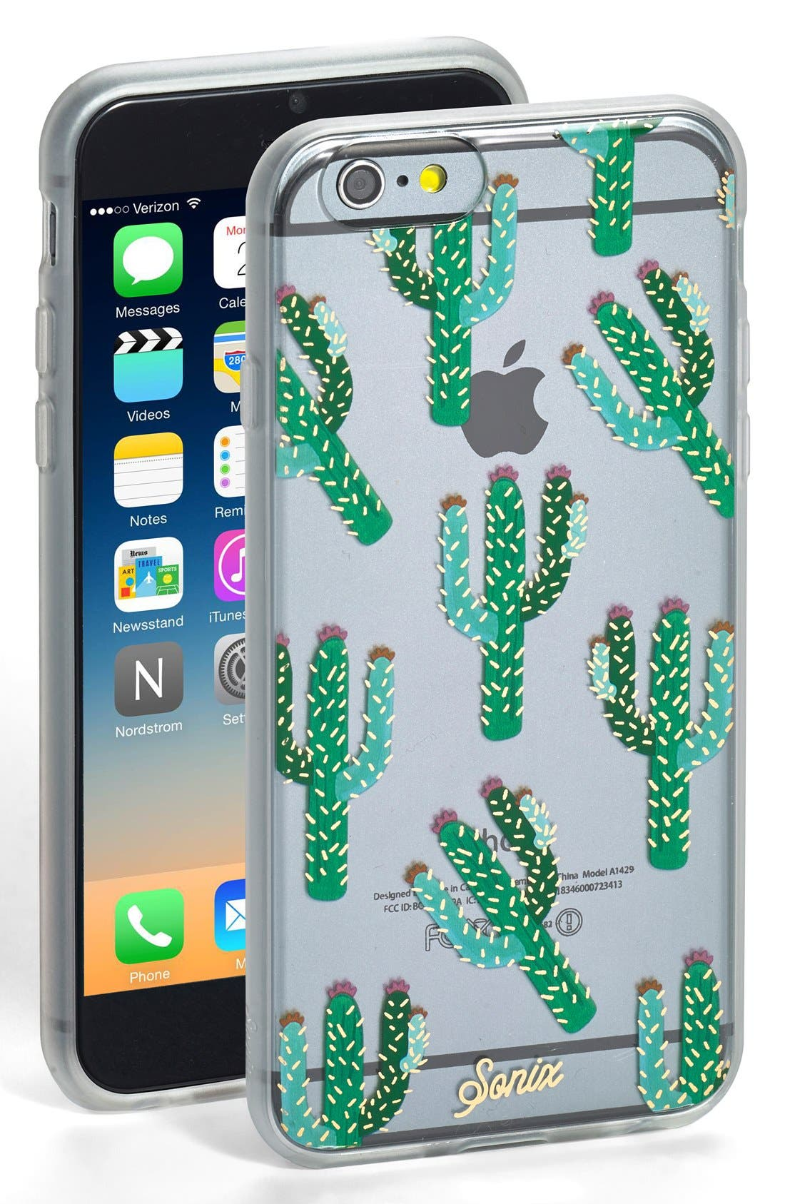 Alternate Image 1 Selected - Sonix 'Clear Cactus' iPhone 6 & 6s Case