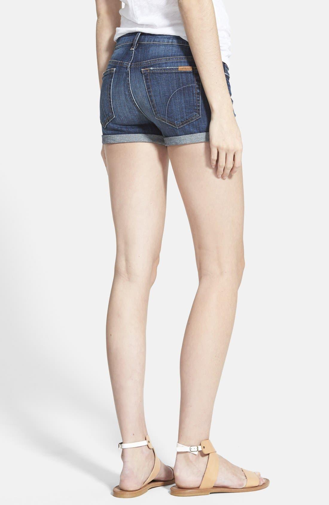 Alternate Image 2  - Joe's Rolled Denim Shorts (Genna)