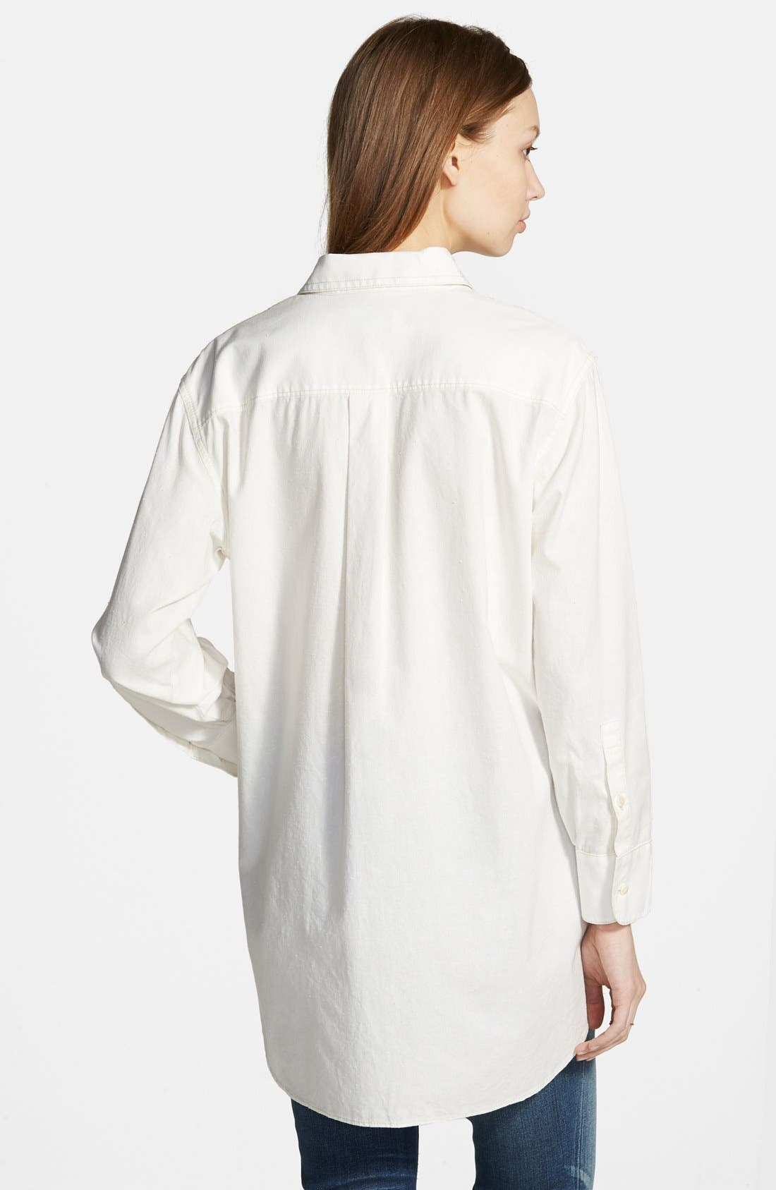 Alternate Image 3  - Madewell Oversized Button Front Tunic