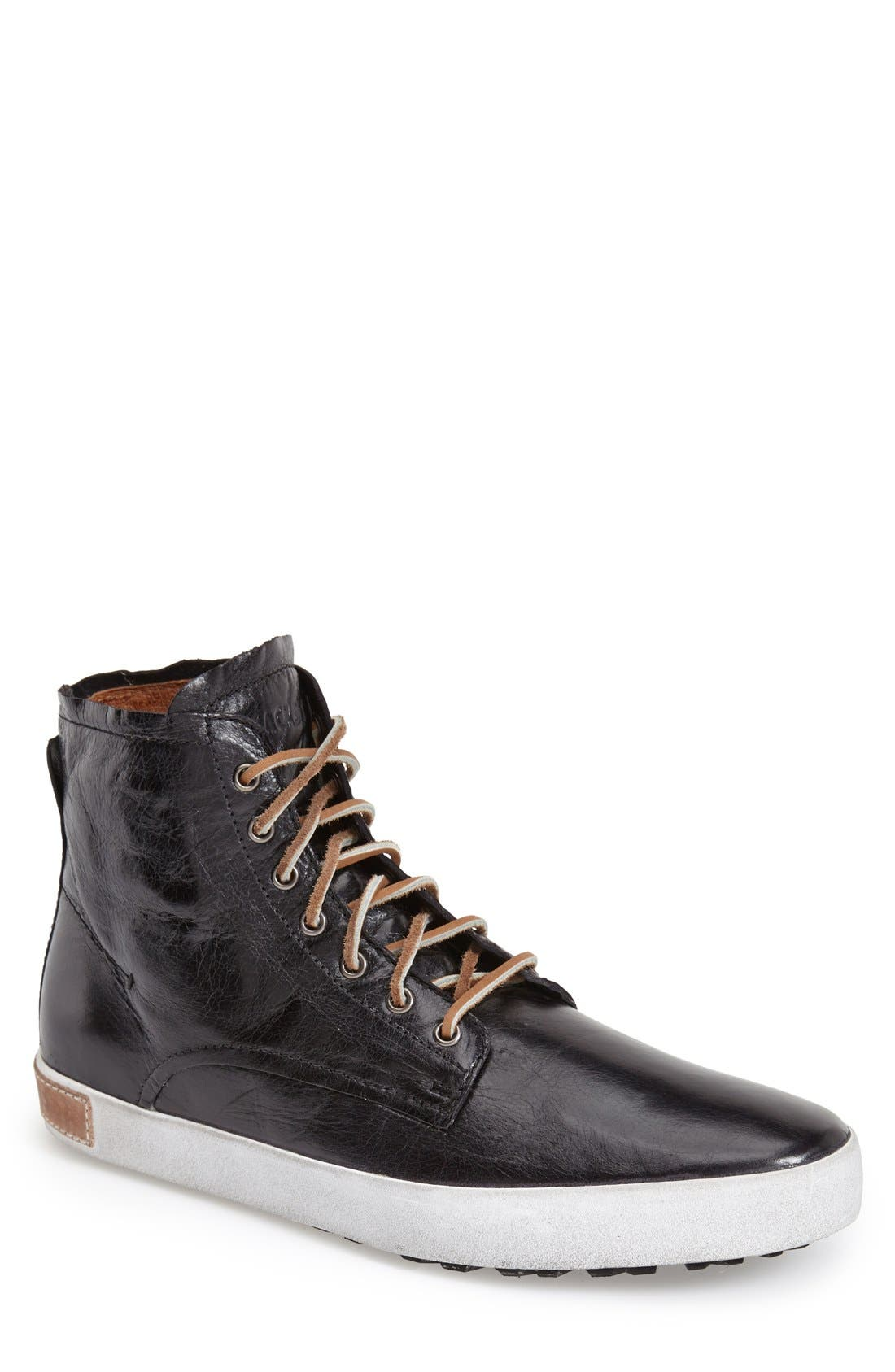 BLACKSTONE 'IM 10' Leather High Top Sneaker