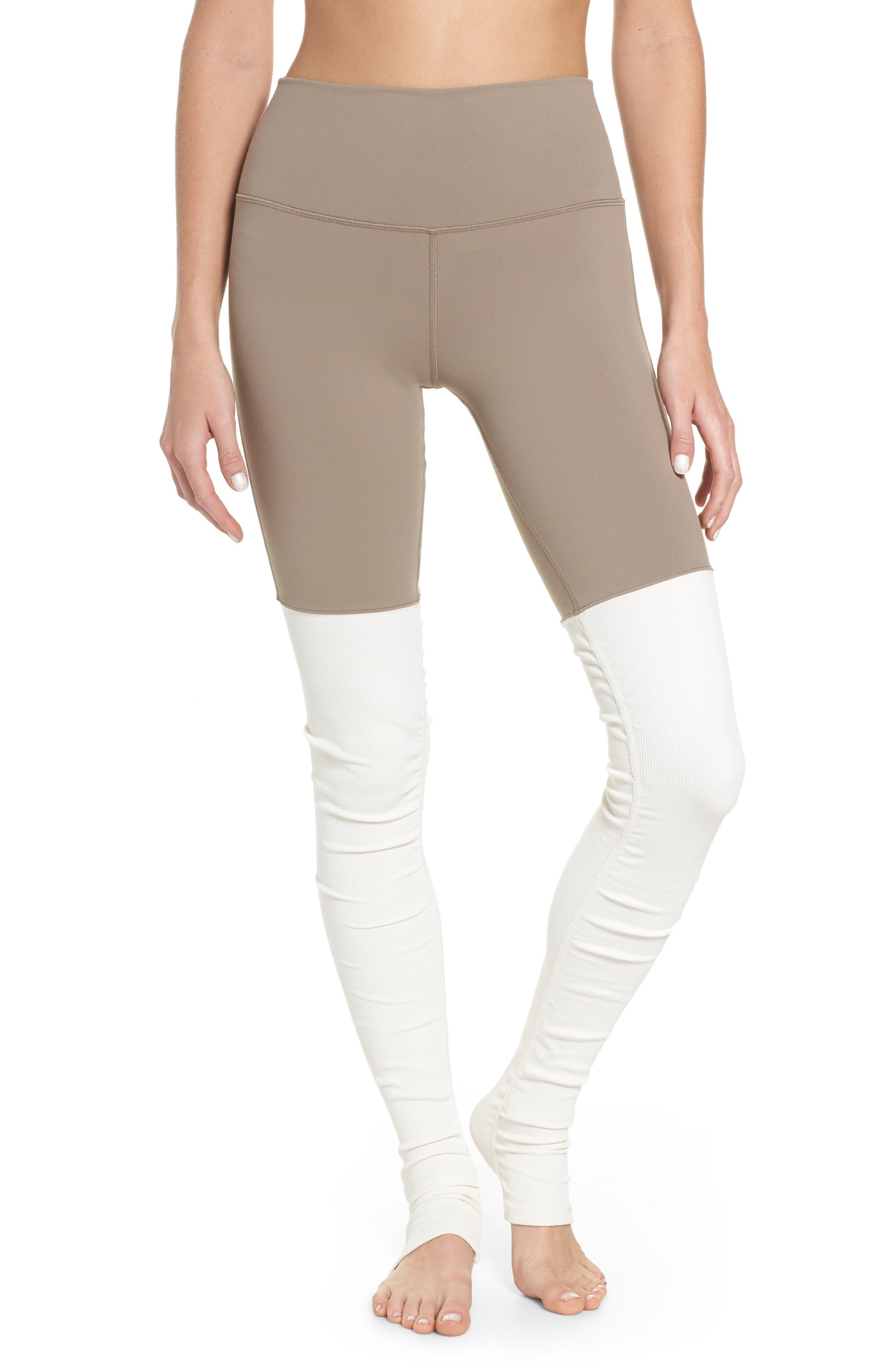 Sport tights beige