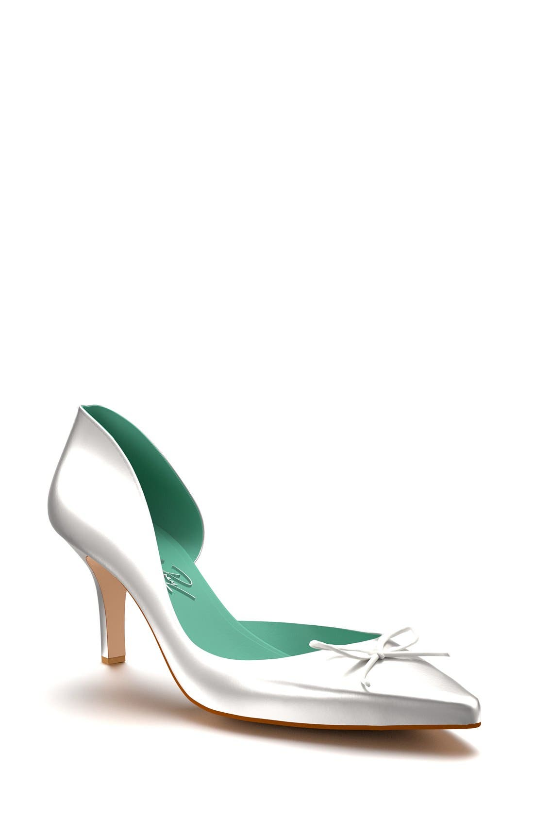Main Image - Shoes of Prey Pointy Toe Half d'Orsay Pump (Women)