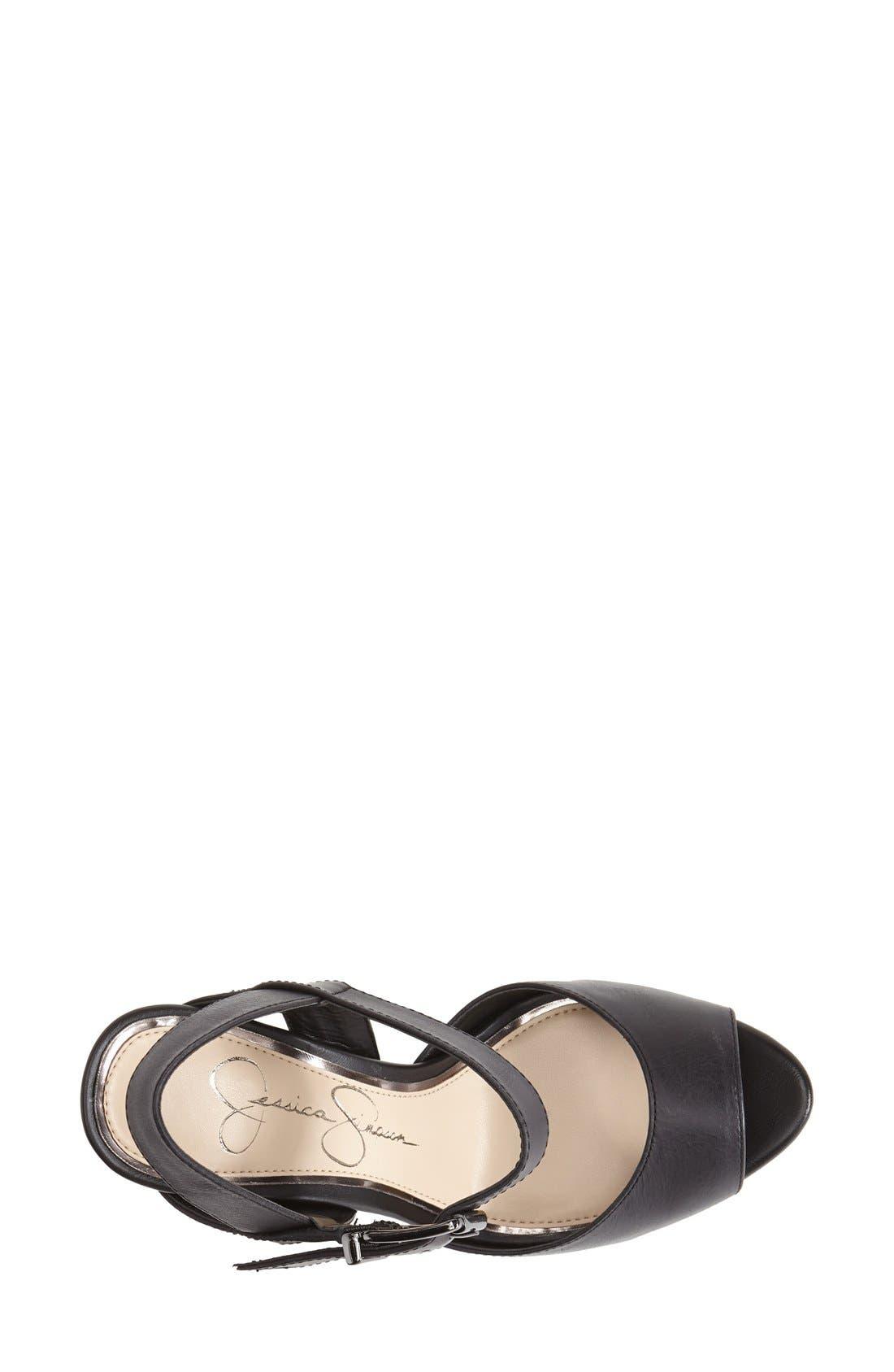 Alternate Image 3  - Jessica Simpson 'Daelyn' Studded Leather Platform Sandal (Women)