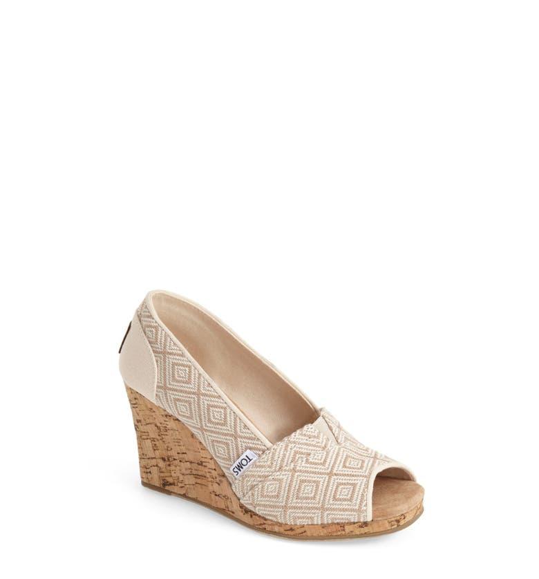 Toms Classic Woven Wedge Sandal Women Nordstrom