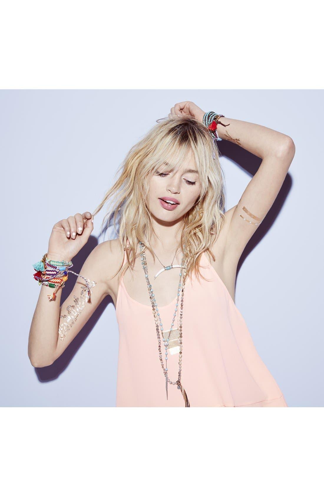 Alternate Image 3  - Chan Luu Beaded Leather Wrap Bracelet