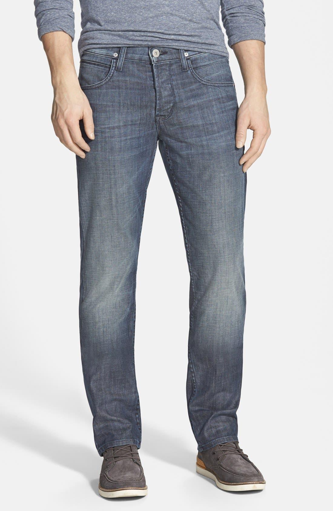 Alternate Image 1 Selected - Hudson Jeans 'Byron' Slim Straight Leg Jeans (Commander)