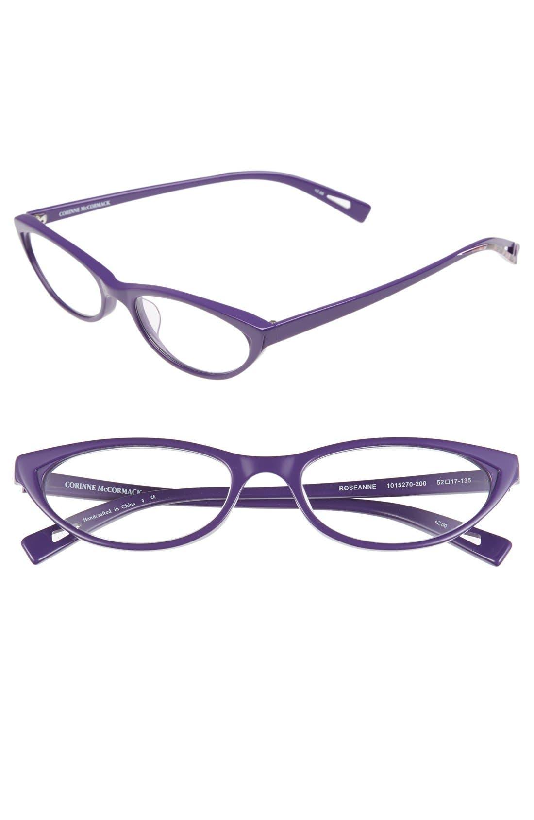 corinne mccormack roseanne 52mm reading glasses nordstrom