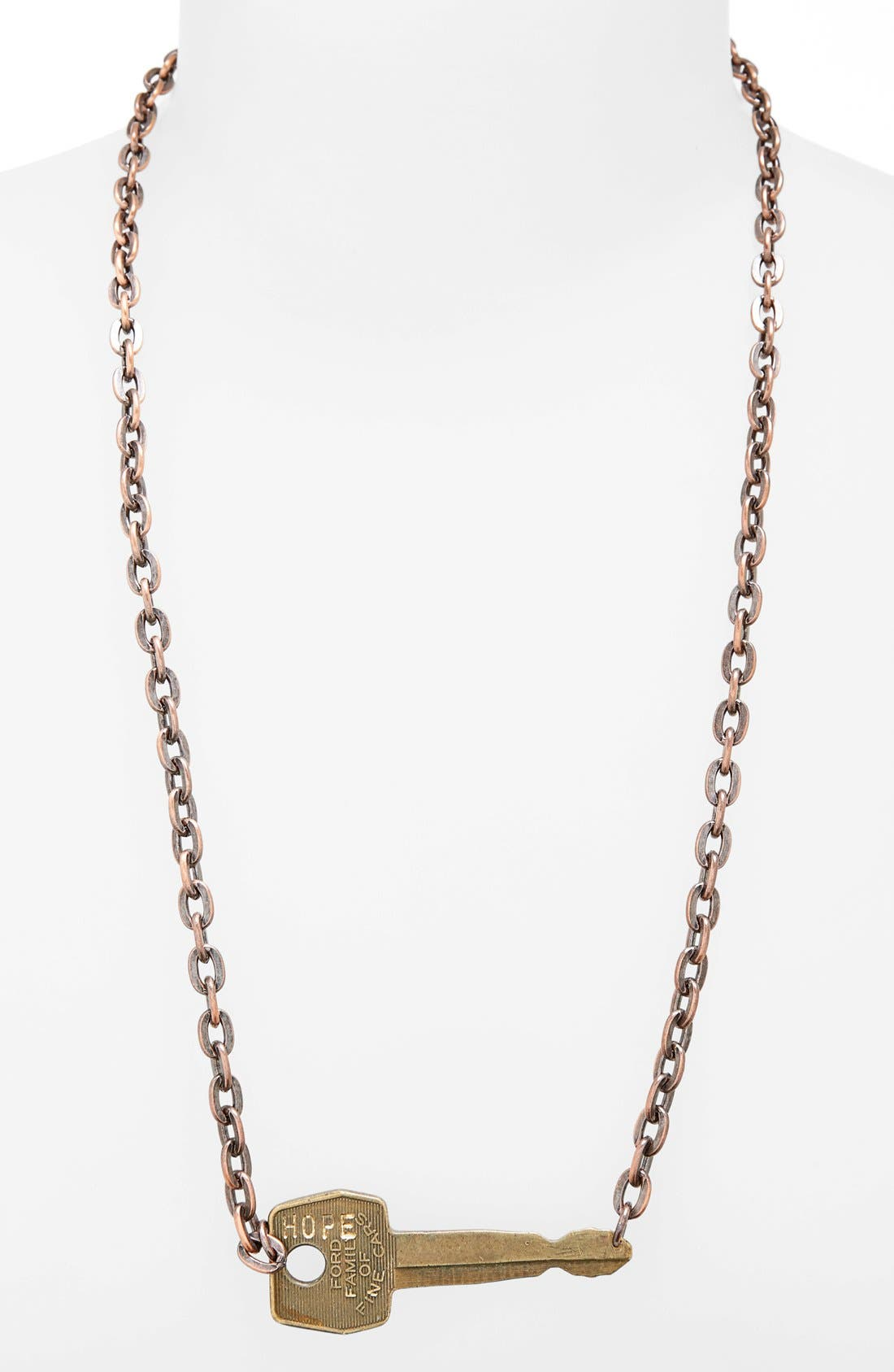 Alternate Image 2  - The Giving Keys 'Never Ending' 24-Inch Copper Chain Key Necklace
