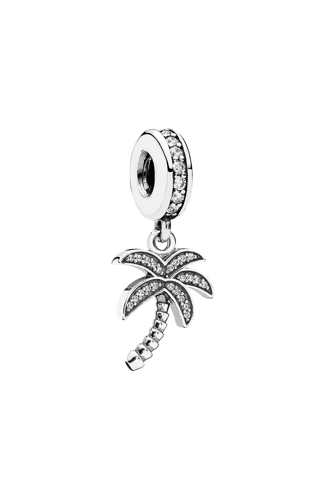 Alternate Image 1 Selected - PANDORA Palm Tree Dangle Charm